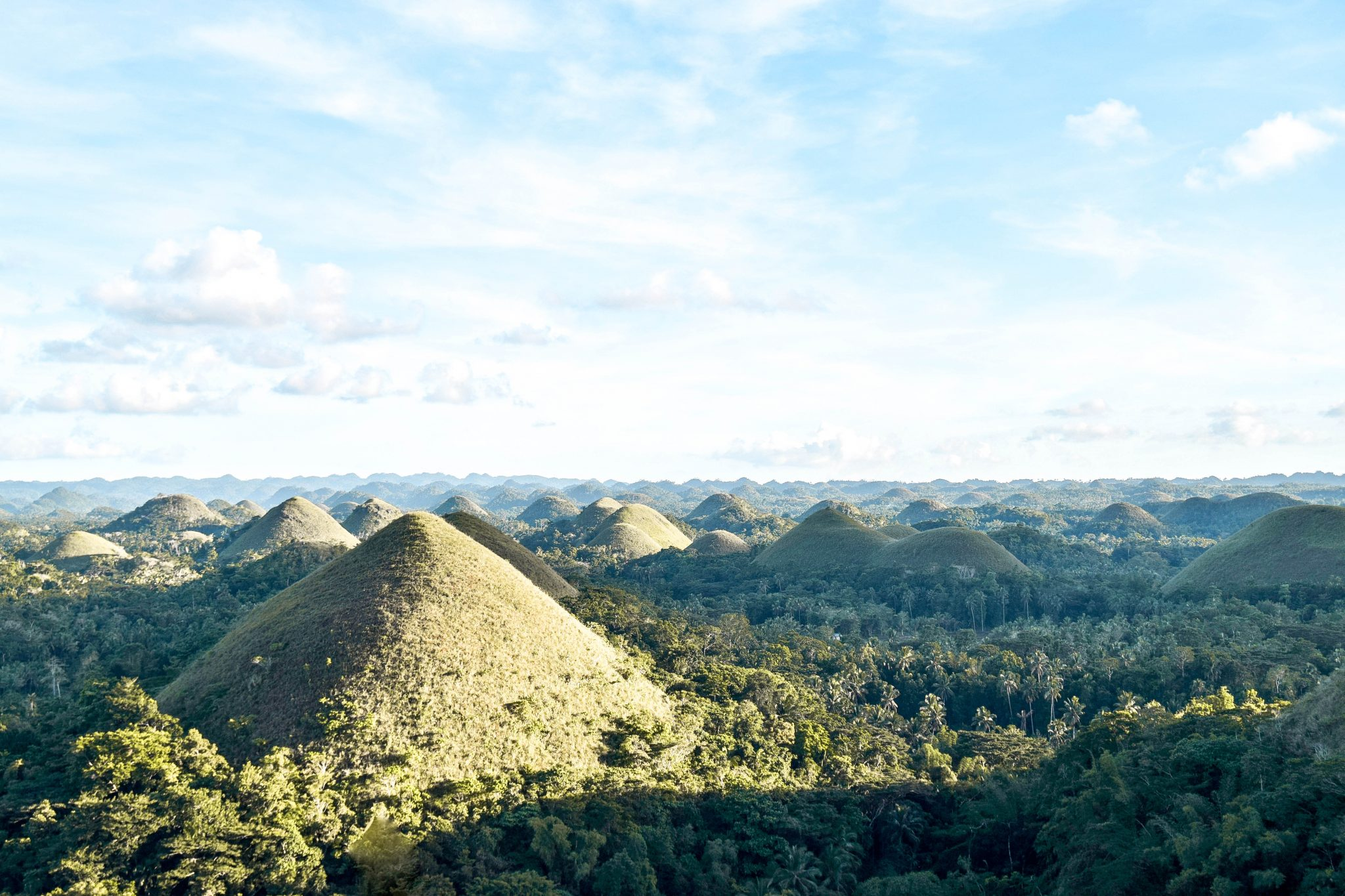 Wanderers & Warriors - Bohol Tourist Spots In Bohol & Things To Do - Chocolate Hills in Bohol Philippines