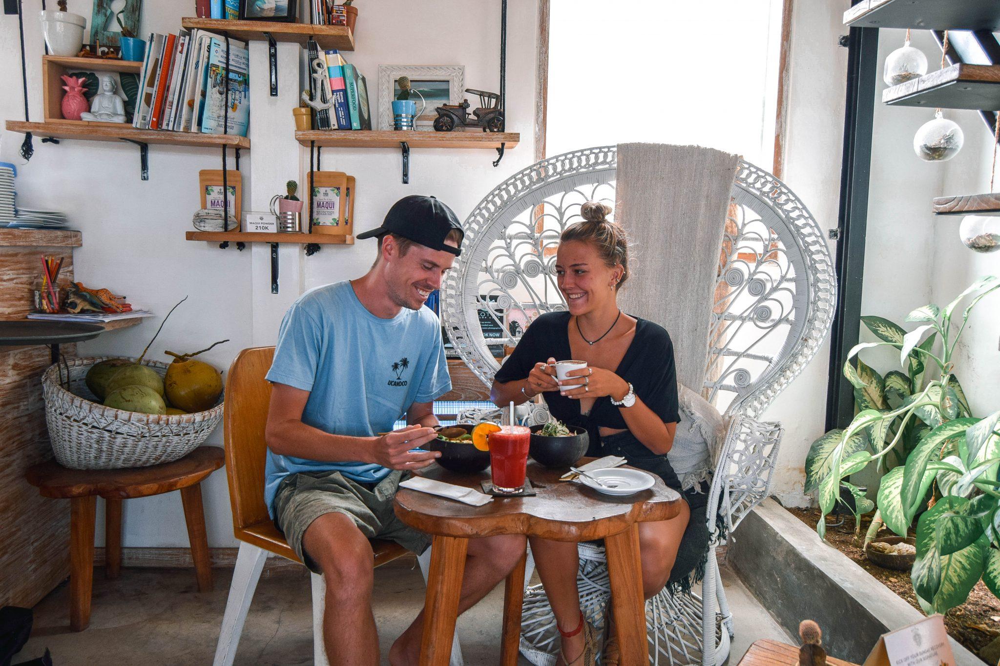 Wanderers & Warriors - Charlie & Lauren UK Travel Couple - Bali Bowls & Smoothies - Best Restaurants In Bali Restaurants - Best Restaurants In Berawa