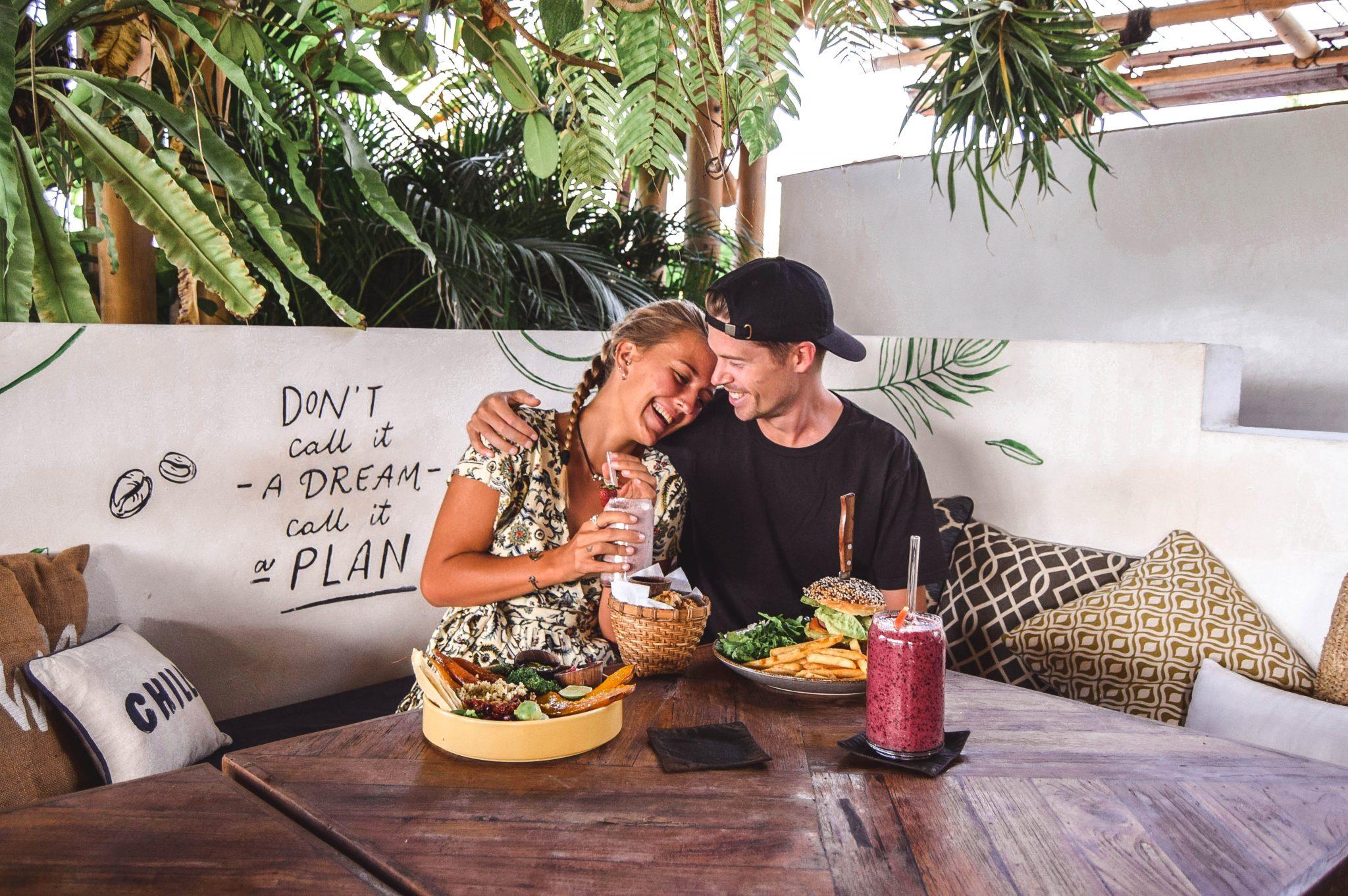 Wanderers & Warriors - Charlie & Lauren UK Travel Couple - Shelter Seminyak Bali - Best Restaurants In Bali Restaurants - Best Restaurants In Seminyak - Smoothie Bowls Bali