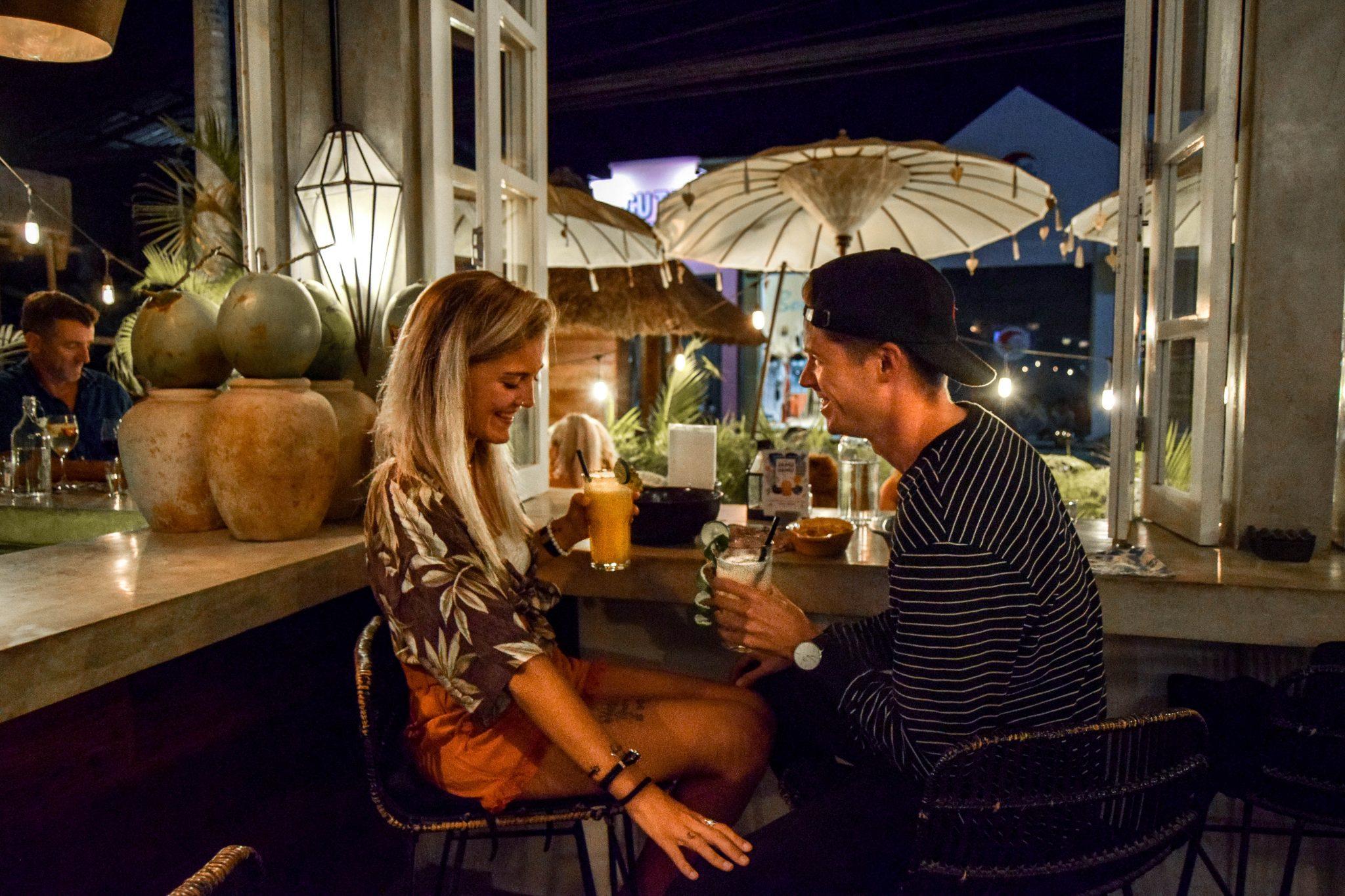 Wanderers & Warriors - Charlie & Lauren UK Travel Couple - Gypsy Kitchen & Bar Canggu Bali - Best Restaurants In Canggu Restaurants
