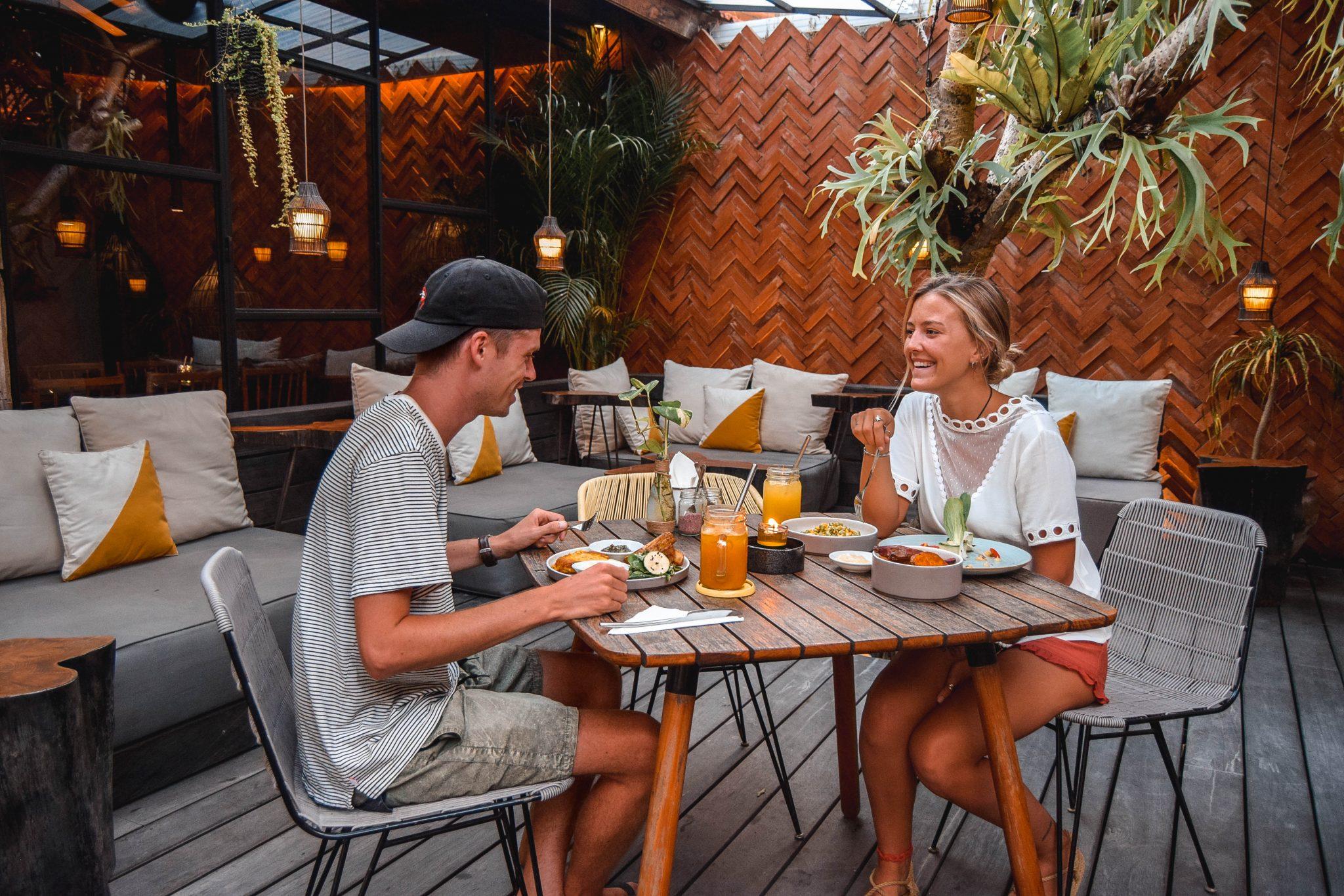 Wanderers & Warriors - Charlie & Lauren UK Travel Couple - The Savage Kitchen Bali Berawa Canggu Bali - Best Restaurants In Bali Restaurants - Best Restaurants In Canggu