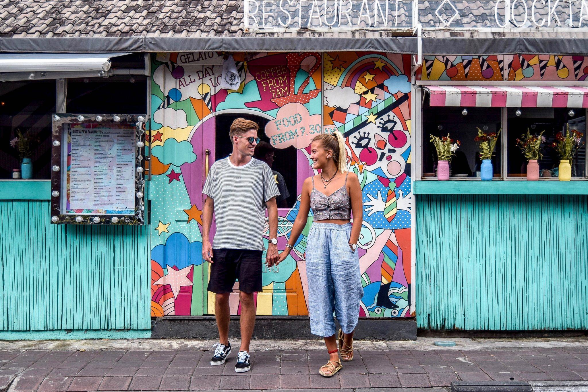 Wanderers & Warriors - Charlie & Lauren UK Travel Couple - Sea Circus Seminyak - Best Restaurants In Bali Restaurants - Best Restaurants In Seminyak