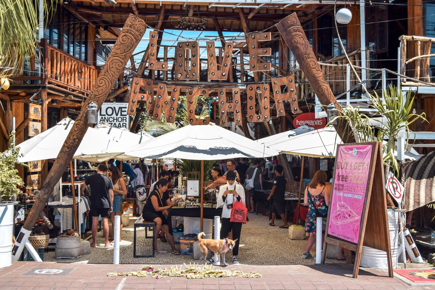 Wanderers & Warriors - Love Anchor Market - Markets In Bali - A Canggu Market Guide