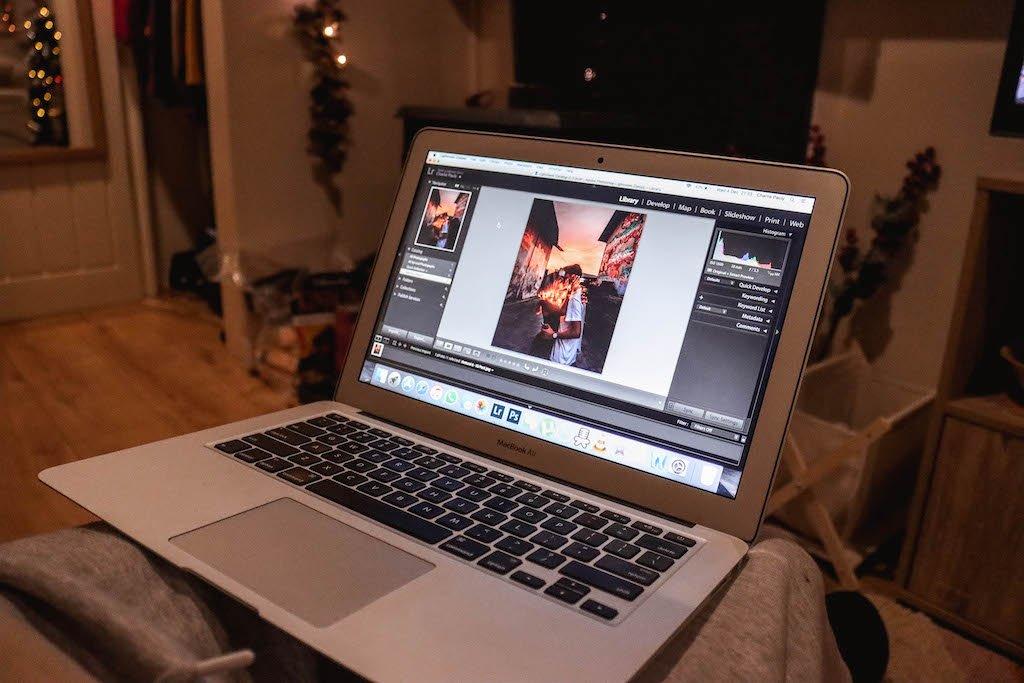 Macbook Air Adobe Lightroom Custom Presets Travel Photography Gear