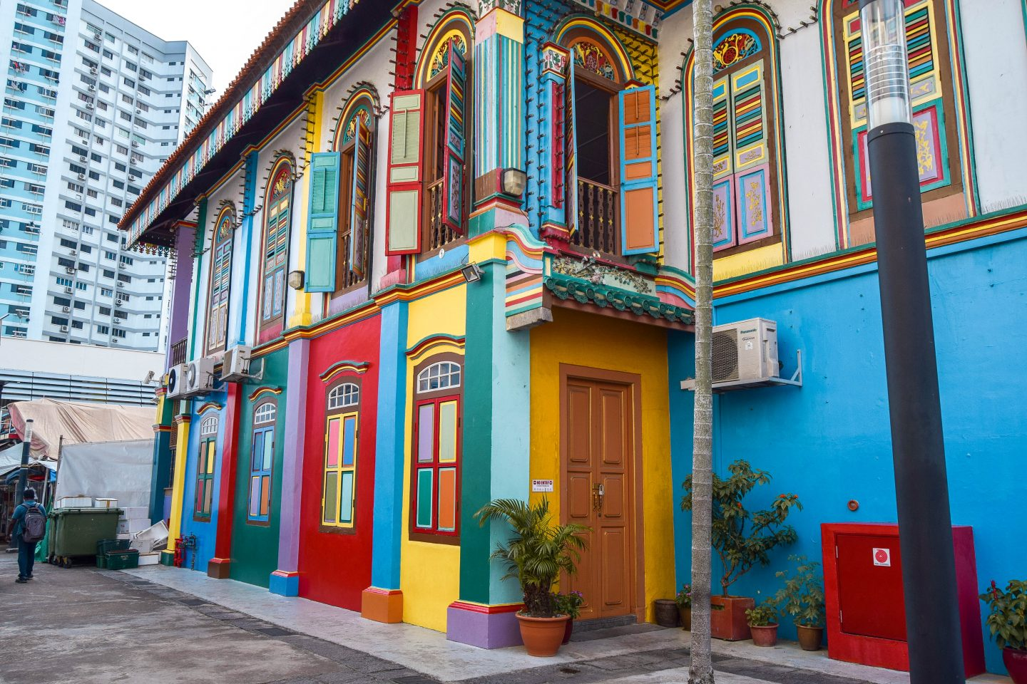 Wanderers & Warriors - Little India Colourful Houses - Best Things To Do In Singapore Itinerary
