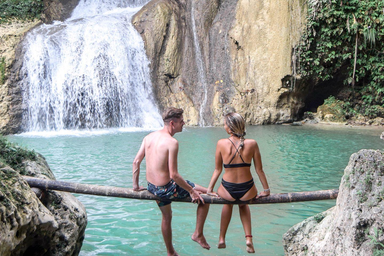 Dimiao Twin Falls Bohol Waterfalls
