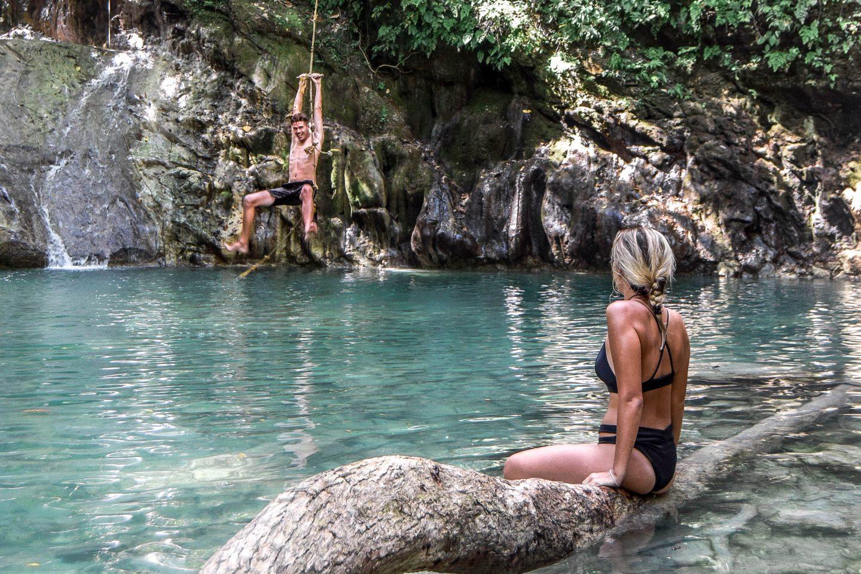 Ingkumhan Falls Bohol Waterfalls