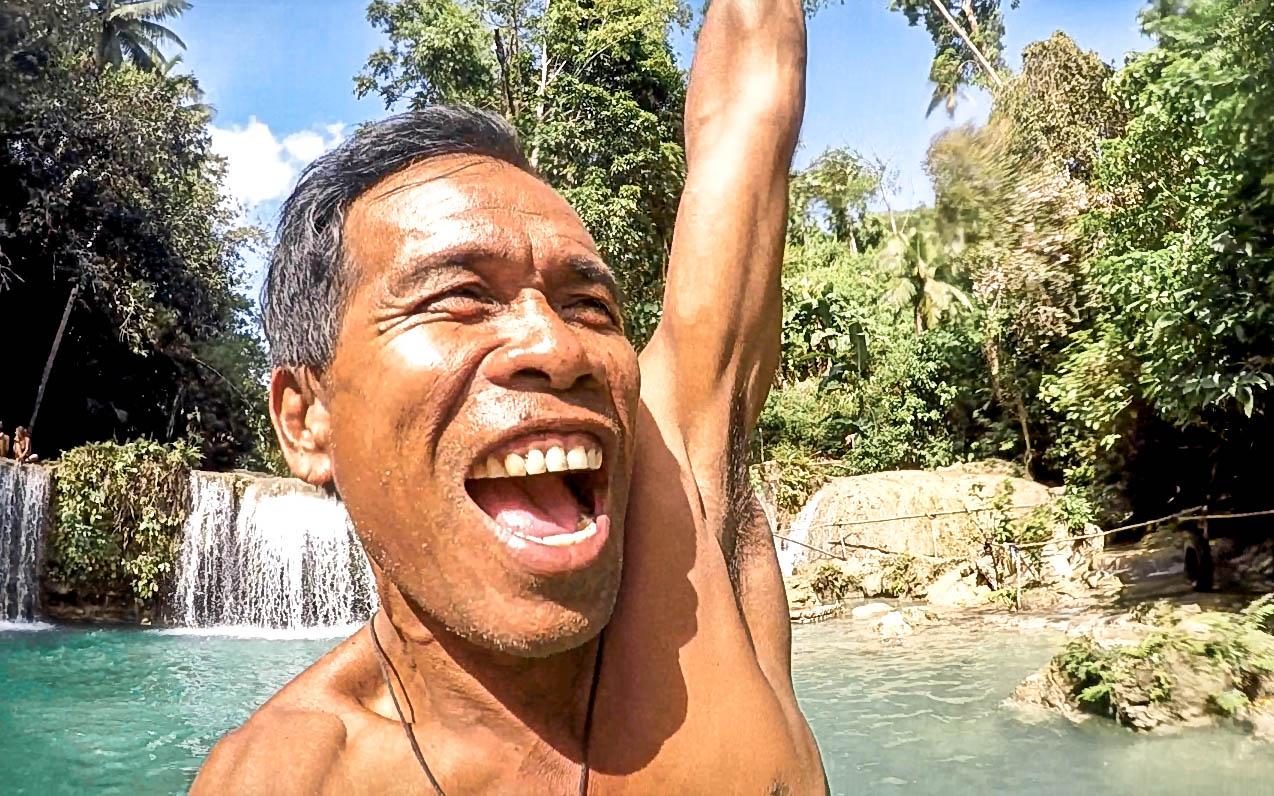 Cambugahay Falls Siquijor Best Waterfalls Philippines