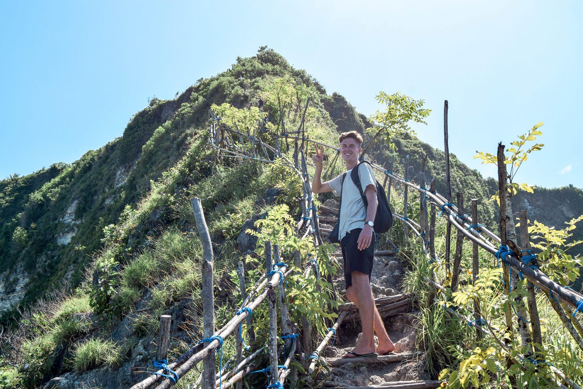 Wanderers & Warriors - Charlie & Lauren UK Travel Couple - The Walk Down To Kelingking Beach - Nusa Penida Bali
