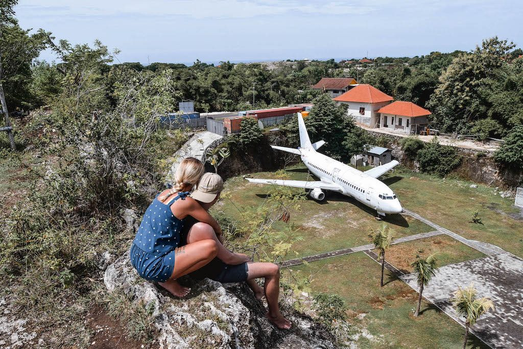 Abandoned Plane Bali Abandoned Aircraft Things to do in Uluwatu