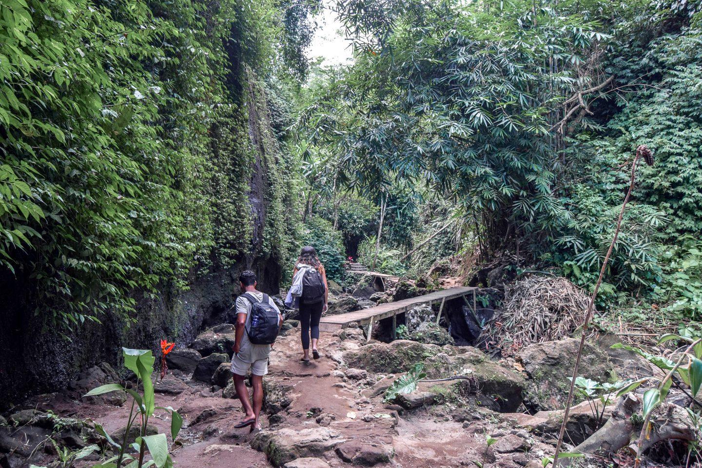 Tibumana Waterfall Entrance Bali Waterfalls Near ubud