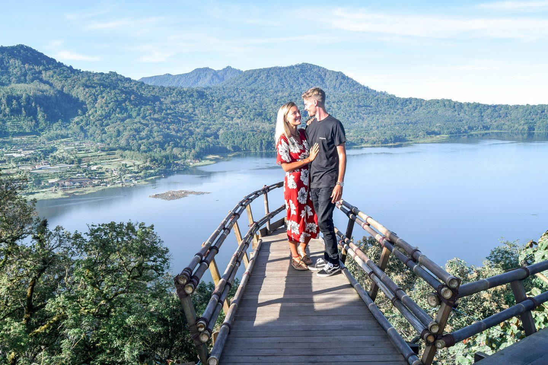 Wanderers & Warriors - Charlie & Lauren UK Travel Couple - Wanagiri Hidden Hills Bali Swing Bedugul