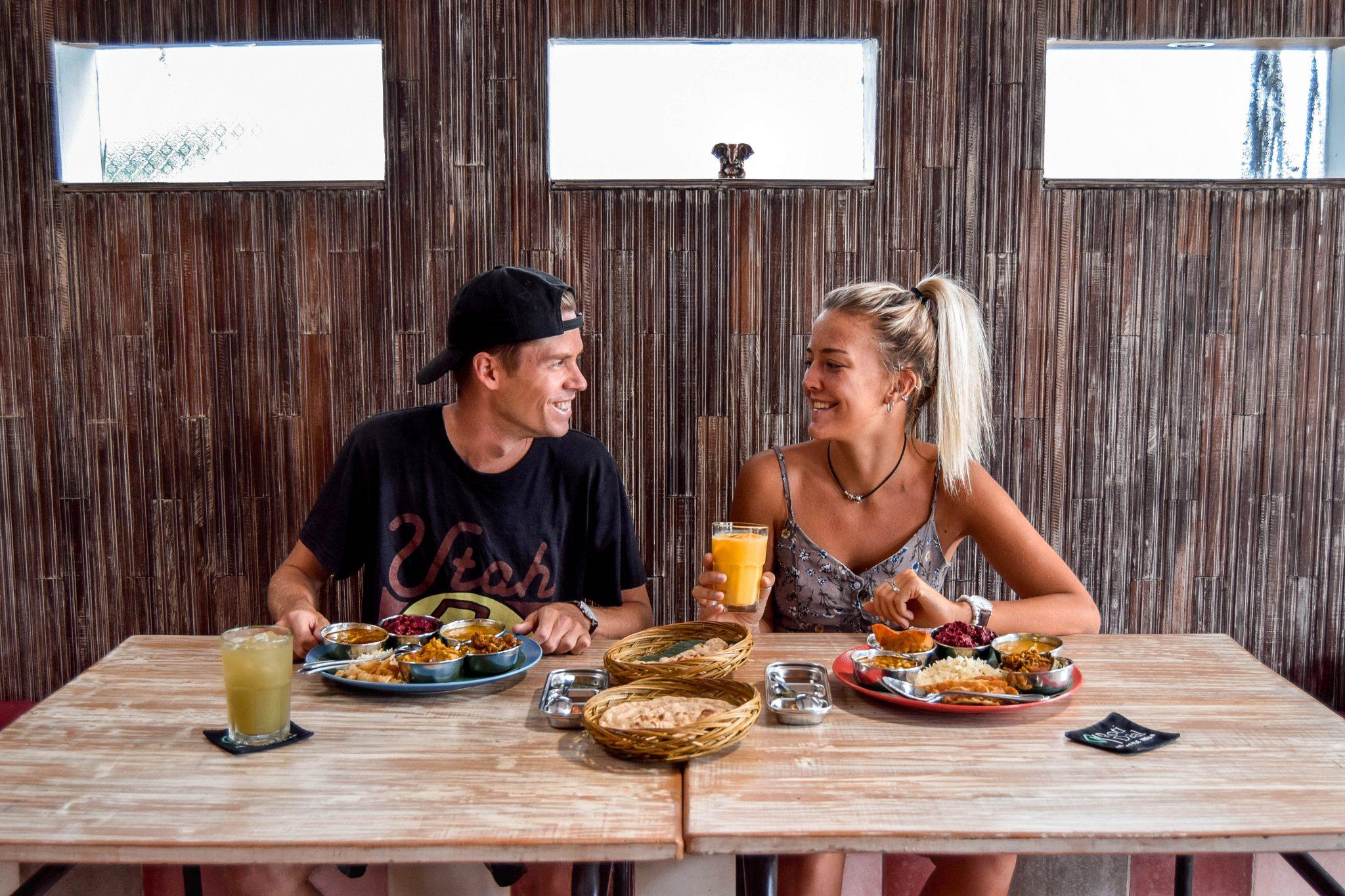 Wanderers & Warriors - Charlie & Lauren UK Travel Couple - Roti Daal Asia Berawa Bali Homestyle Indian - Best Restaurants In Bali Restaurants - Best Restaurants In Berawa - Indian Food In Bali