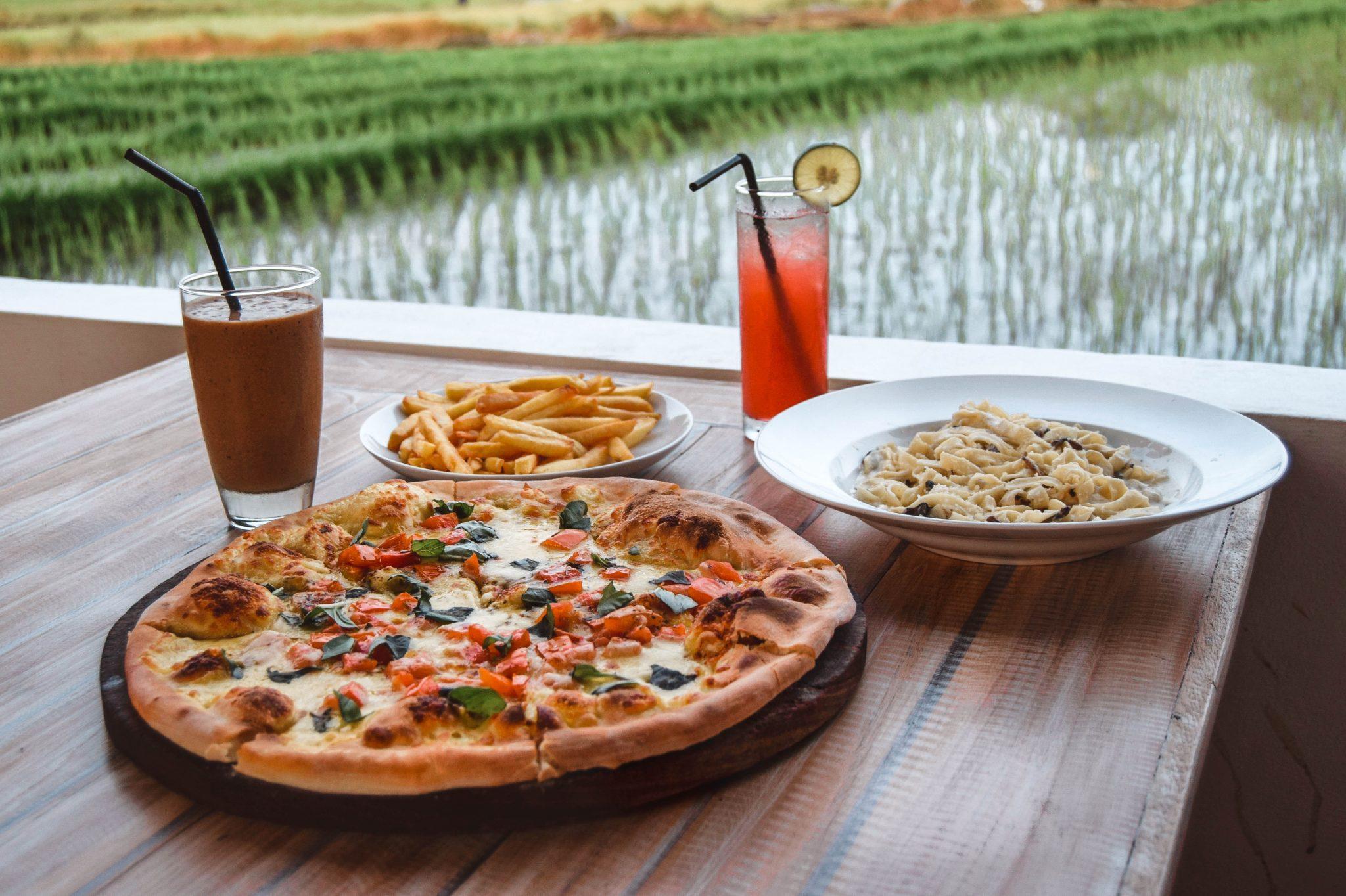 Wanderers & Warriors - Garden Canggu By Pizza House Restaurant Canggu Bali - Best Restaurants In Bali Food - Best Restaurants In Canggu