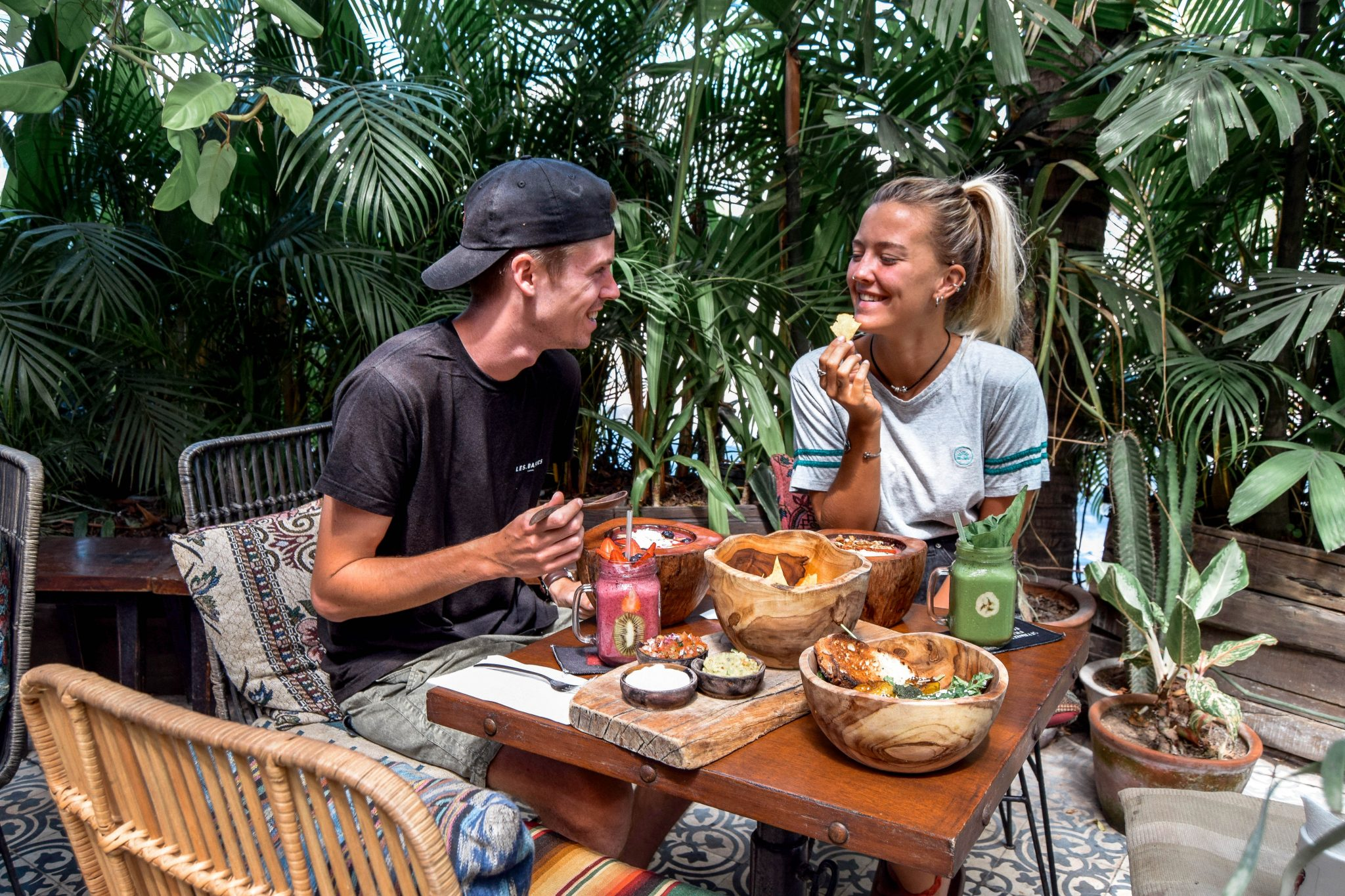 Wanderers & Warriors - Charlie & Lauren UK Travel Couple - Strawberry Fields Seminyak Bali - Best Restaurants In Bali Food - Best Restaurants In Seminyak Bali - Best Restaurants In Bali Restaurants - Best Restaurants In Seminyak