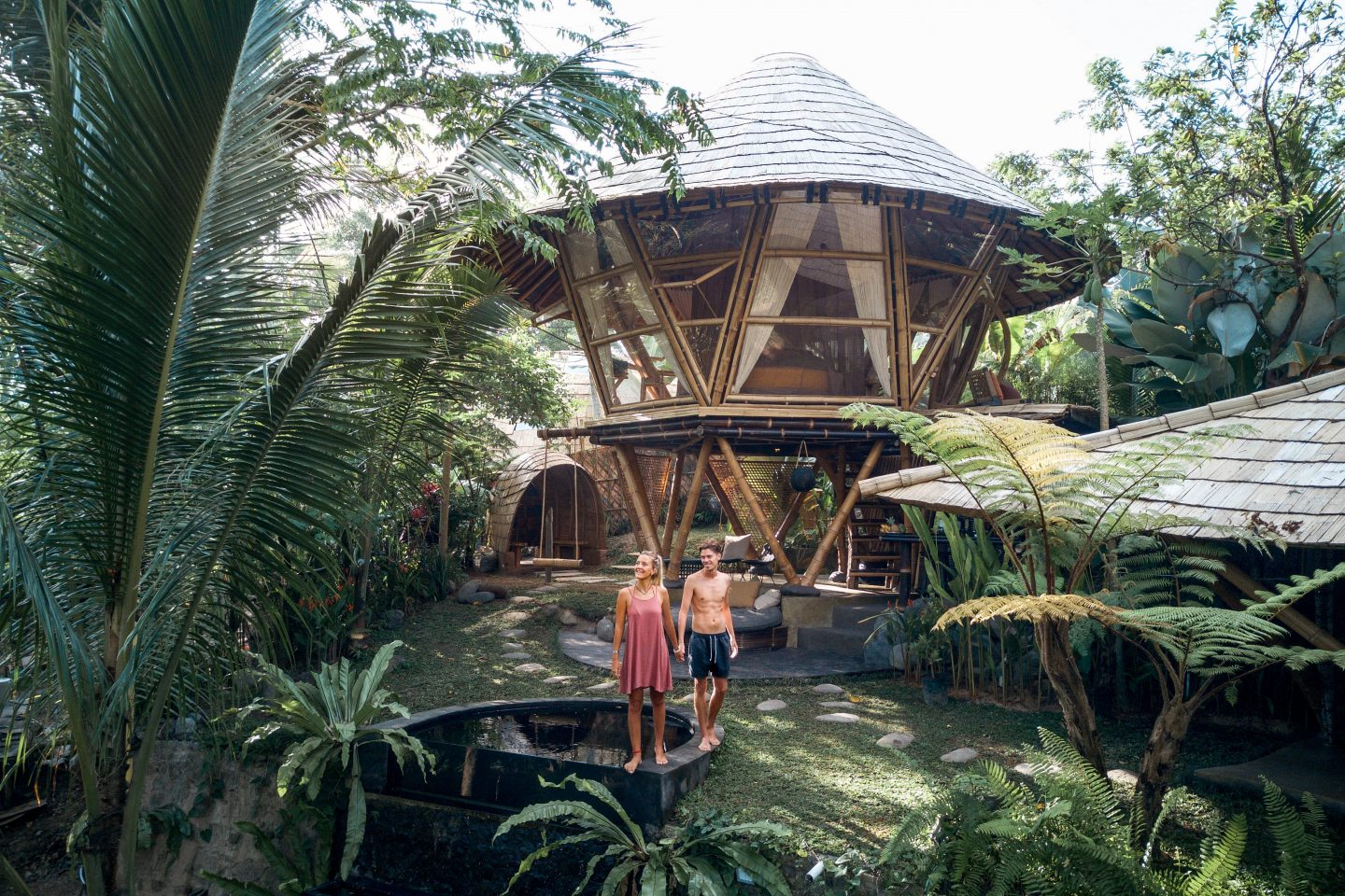 Hideout Beehive – A Bamboo Home At Hideout Bali