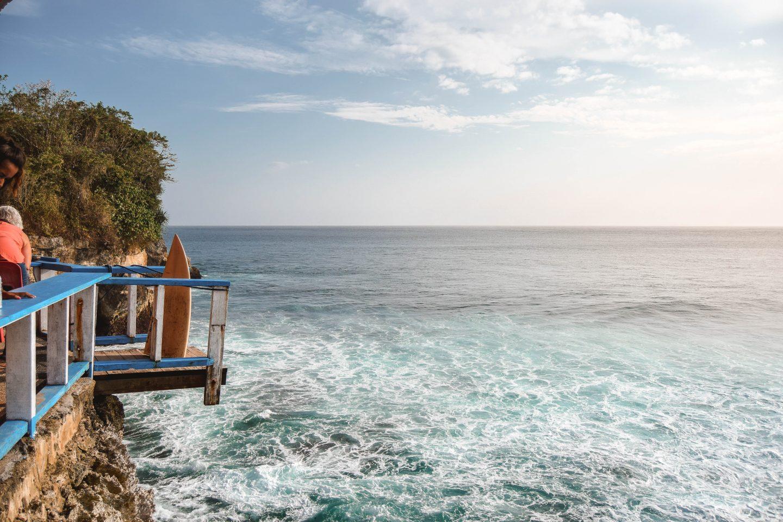 Mahana Point Cliff Jump Nusa Ceningan Bali Cliff Jump