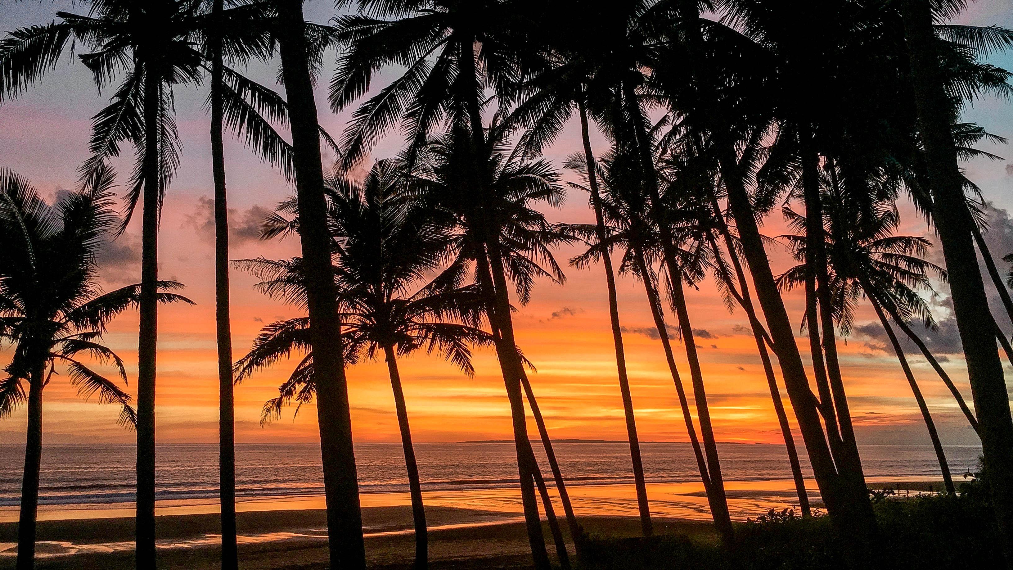 Wanderers & Warriors - Charlie & Lauren UK Travel Couple - Pasut Beach Bali - The Black Sand Beach In Bali - Pantai Pasut - Pantai Sunset