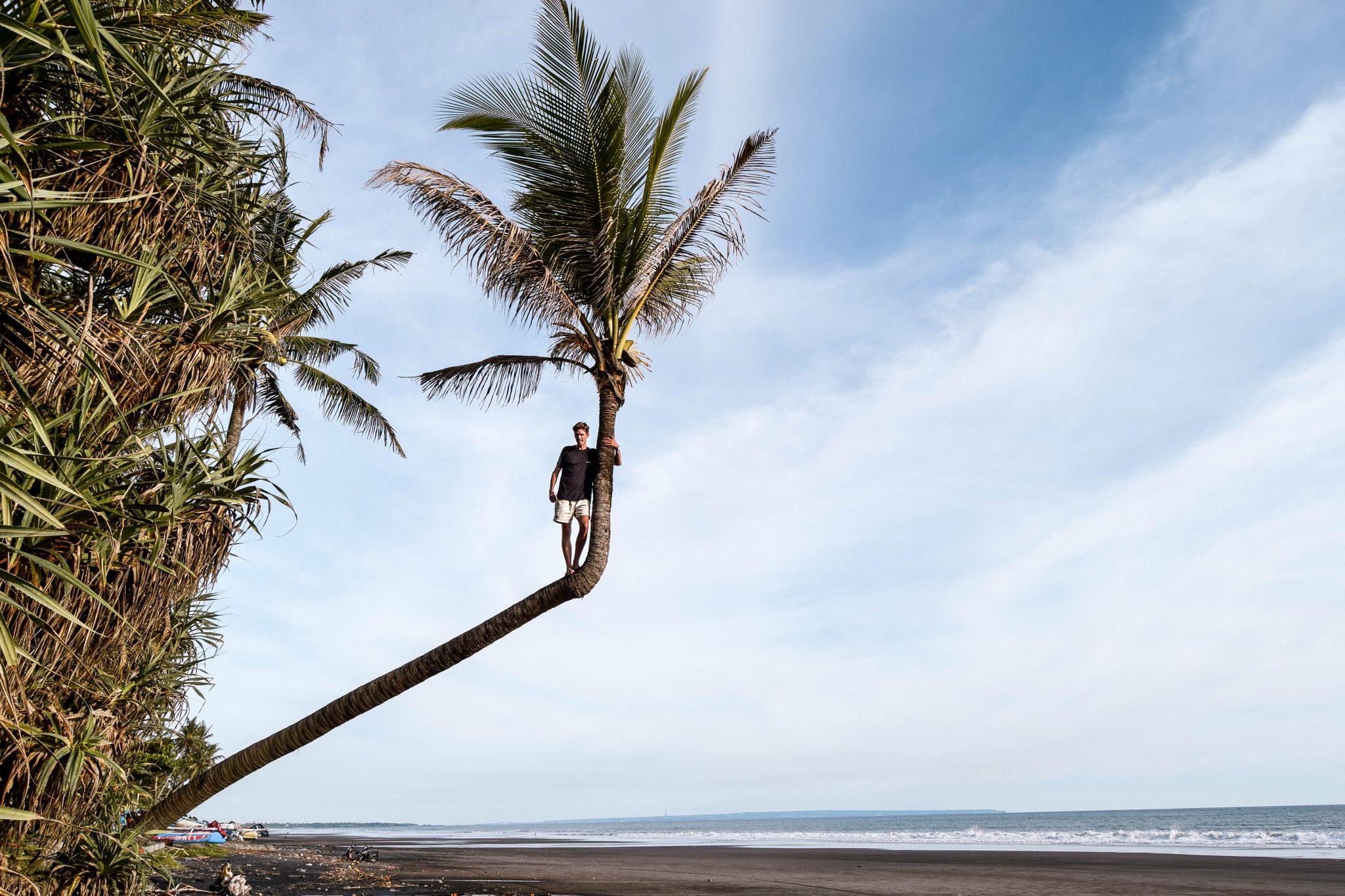 Wanderers & Warriors - Charlie & Lauren UK Travel Couple - Pasut Beach Bali - Black Sand Beach Bali - Pantai Pasut