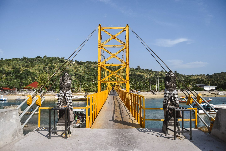 Yellow Bridge Nusa Lembongan To Ceningan