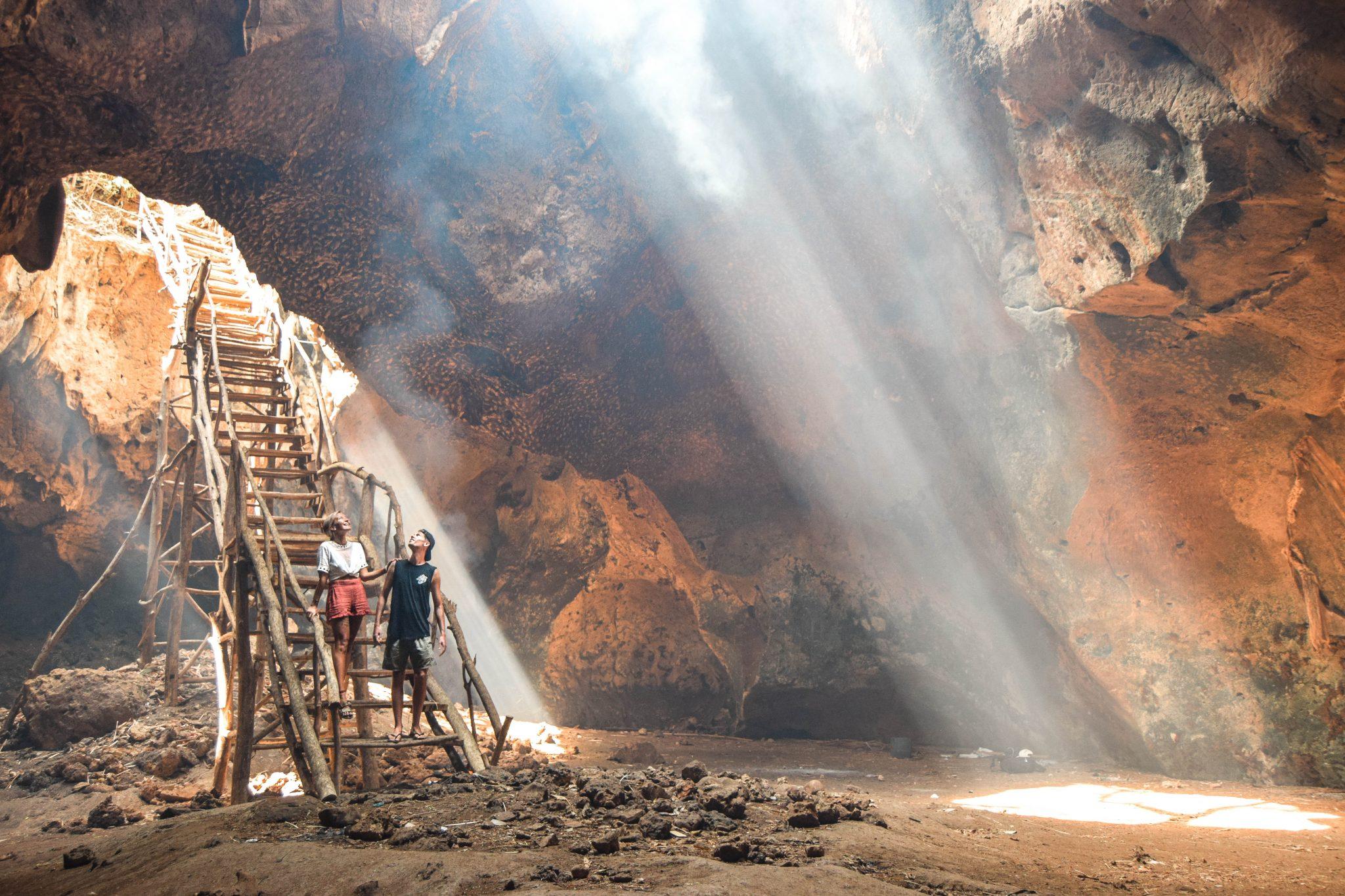 Wanderers & Warriors - Charlie & Lauren UK Travel Couple - Bangkang Cave Lombok Bat Cave Lombok Bat Cave Things To Do In Kuta Lombok