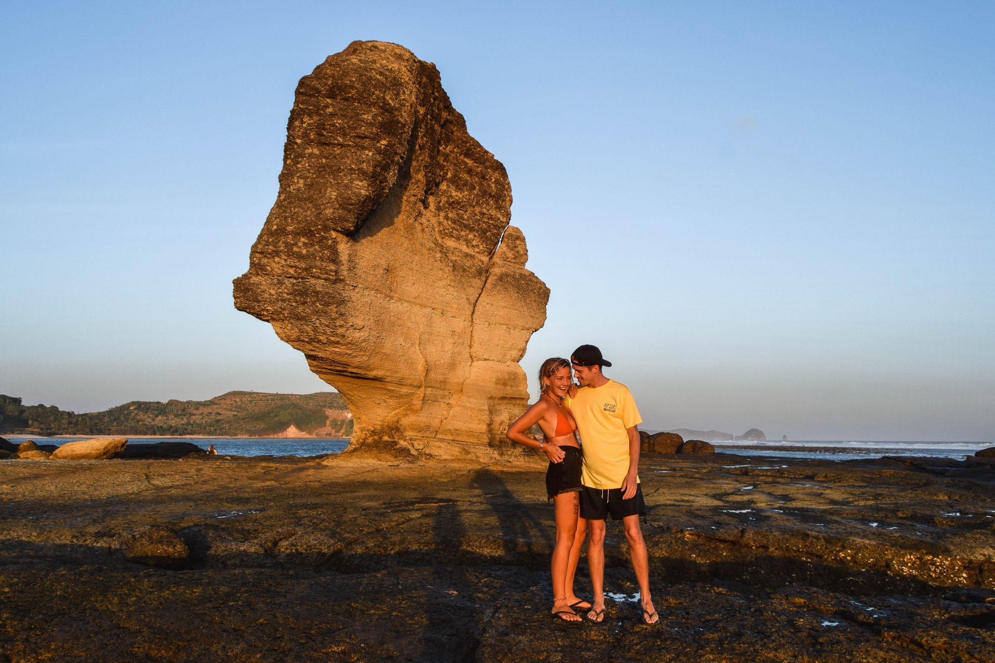 Wanderers & Warriors - Charlie & Lauren UK Travel Couple - Batu Payung Lombok Things To Do In Kuta Lombok