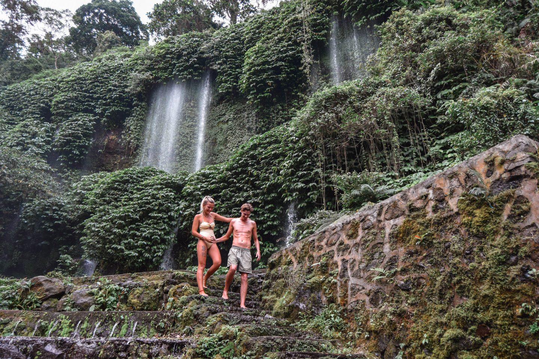 Benang Stokel Waterfall Benang Kelambu Waterfall Lombok Best Waterfalls In Lombok