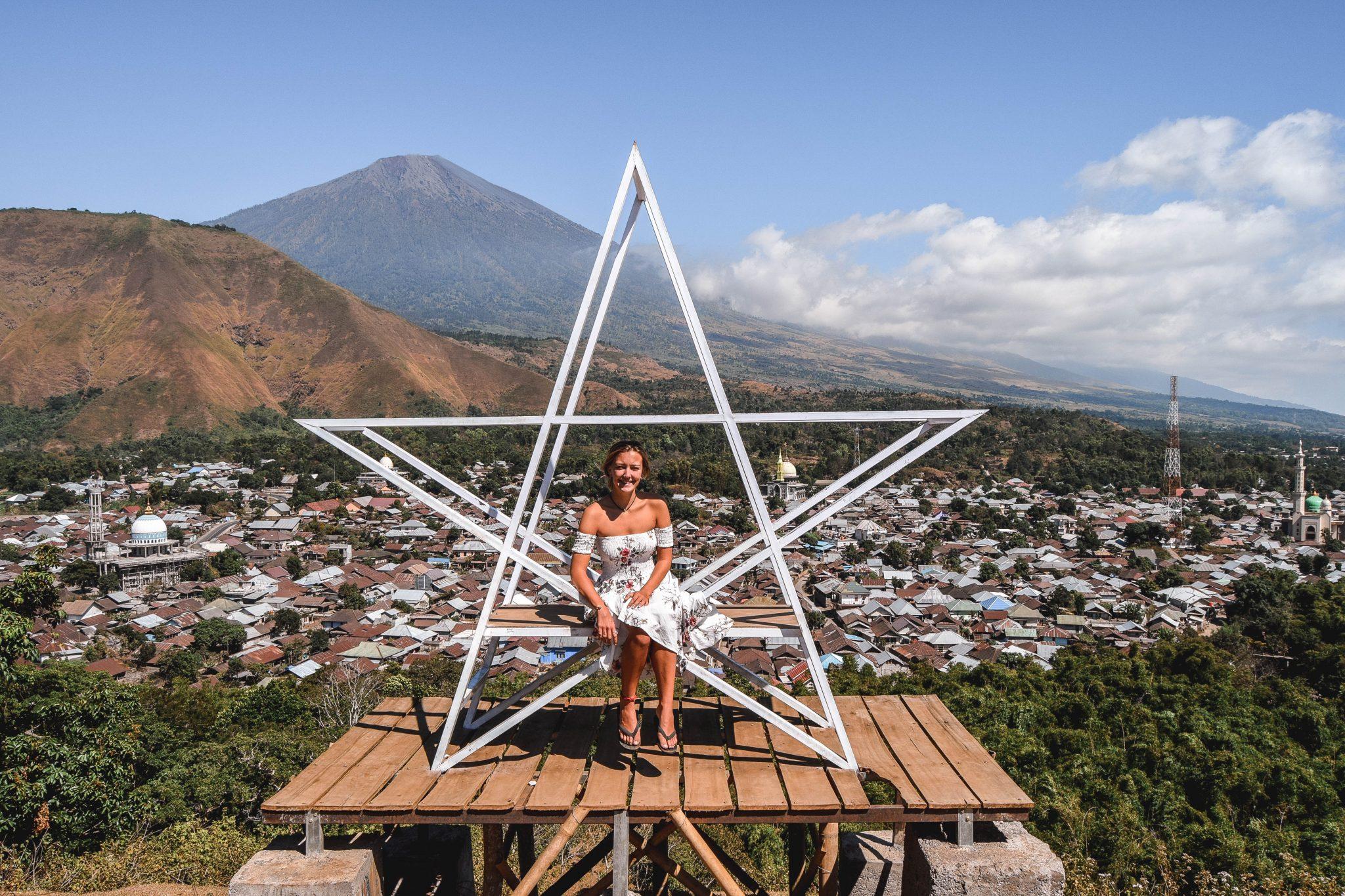 Wanderers & Warriors - Charlie & Lauren UK Travel Couple - Bukit Selong Rice Field Viewpoint – Lombok - Bukit Selong Lombok