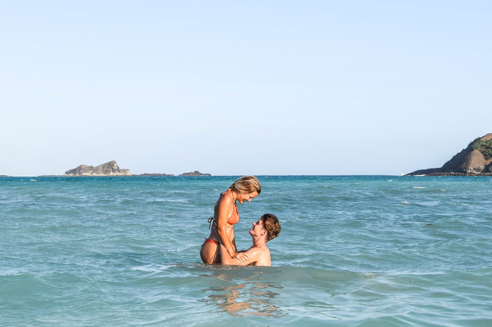 Wanderers & Warriors - Charlie & Lauren UK Travel Couple - Tanjung Aan Beach - Tanjung Aan Lombok - Pantai Tanjung Aan