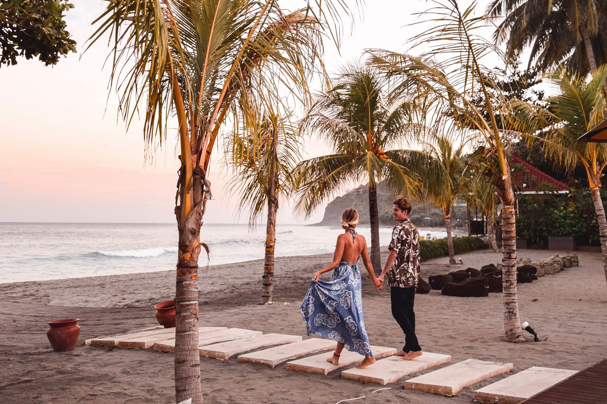 Wanderers & Warriors - Charlie & Lauren UK Travel Couple - Things To Do In Lombok + Lombok Itinerary Senggigi