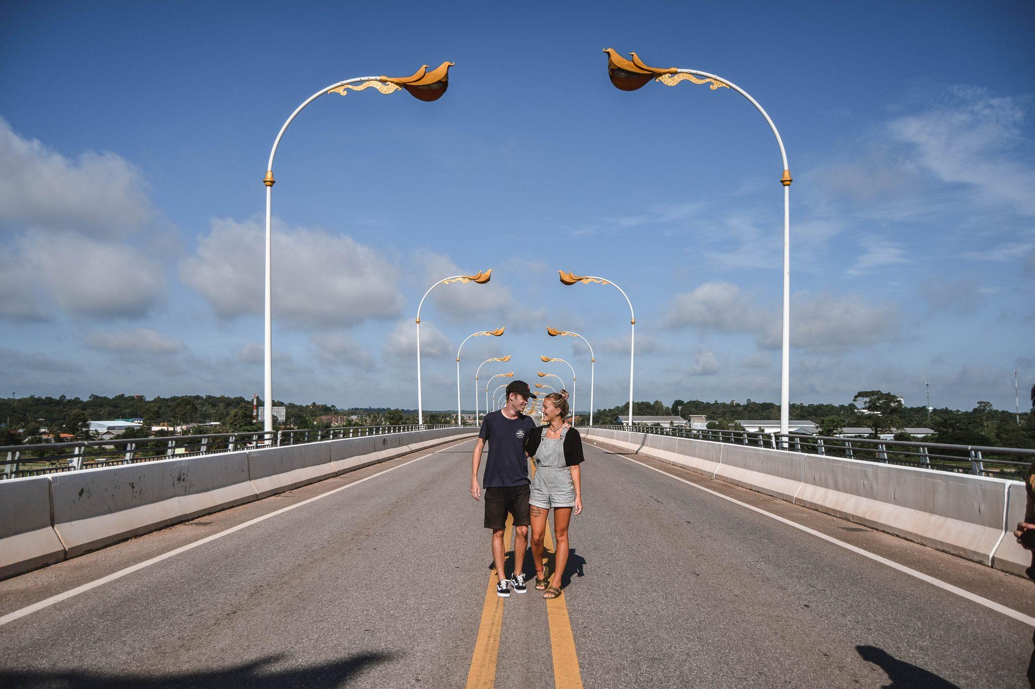 Wanderers & Warriors - Charlie & Lauren UK Travel Couple - 7 Things To Do In Nakhon Phanom - 3rd thai-laos friendship bridge