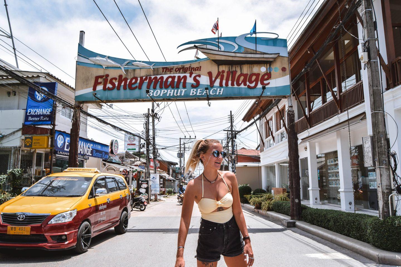 Bophut Fisherman Village Koh Samui