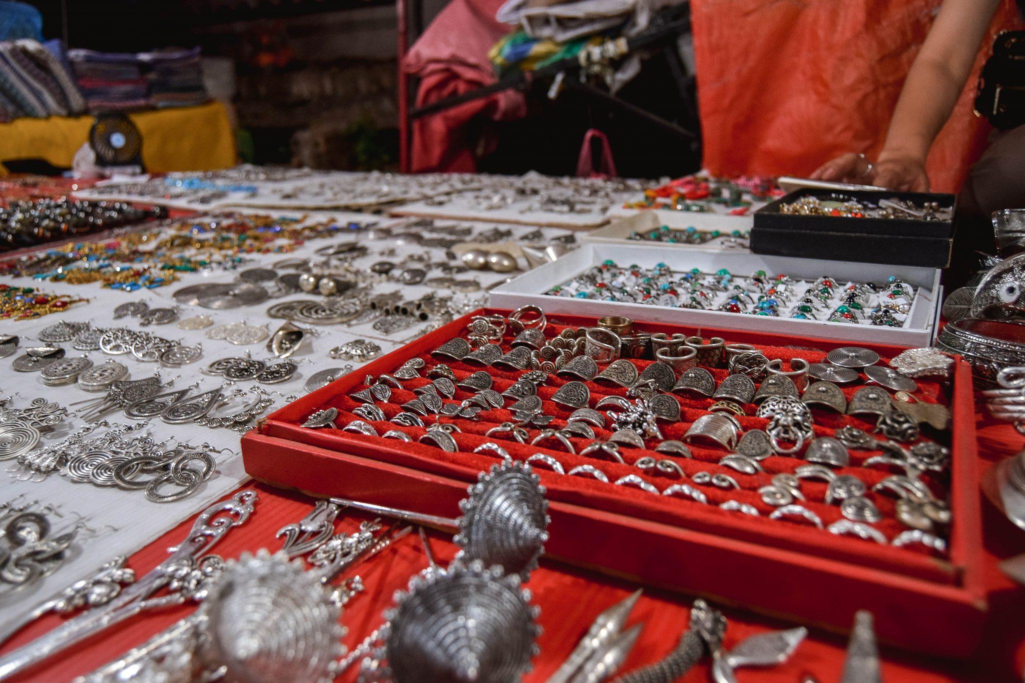 Wanderers & Warriors - Luang Prabang Night Market - The Best Market In Asia - Luang Prabang Attractions - Shopping In Luang Prabang Market - Laos Night Market