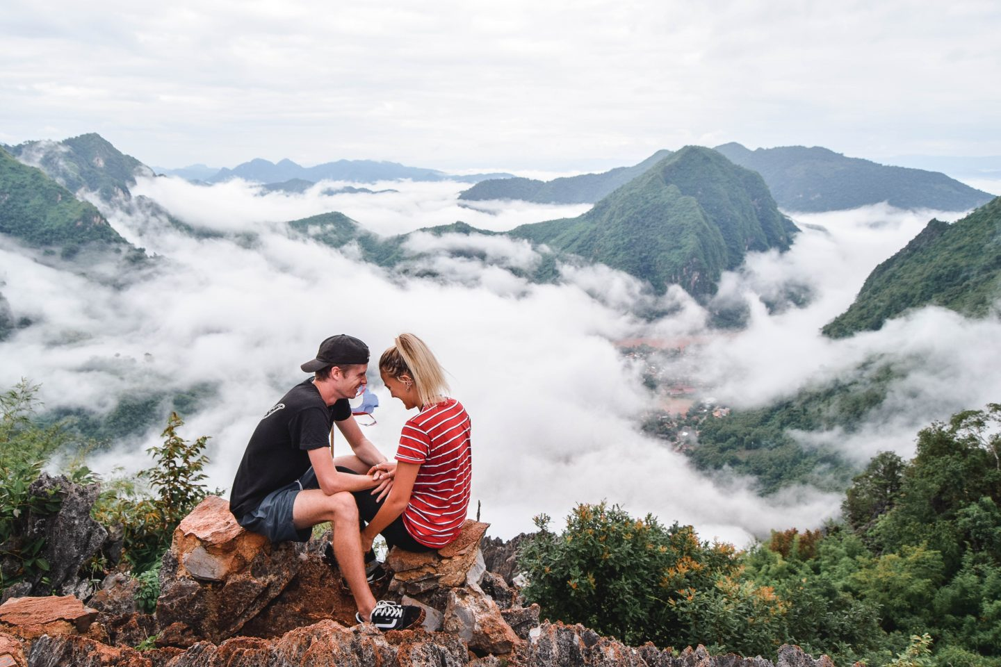 Nong Khiaw Viewpoint - Hiking Phadeng Peak Laos