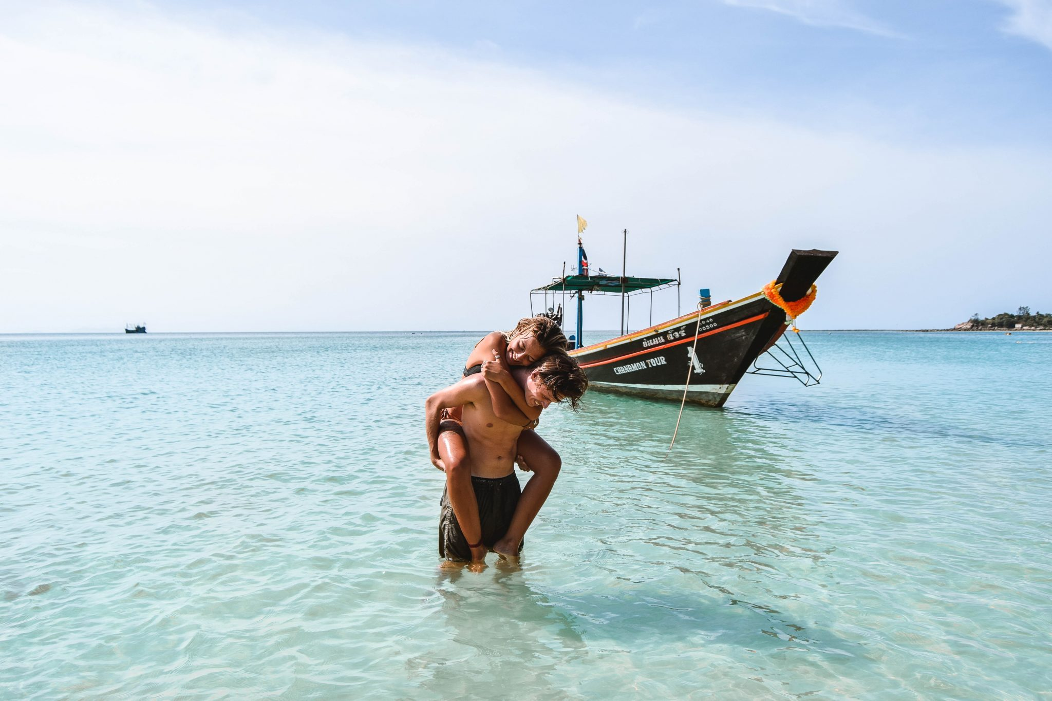 Wanderers & Warriors - Charlie & Lauren UK Travel Couple - Chaloklum Beach Koh Phangan Best Beaches Koh Phangan Beaches