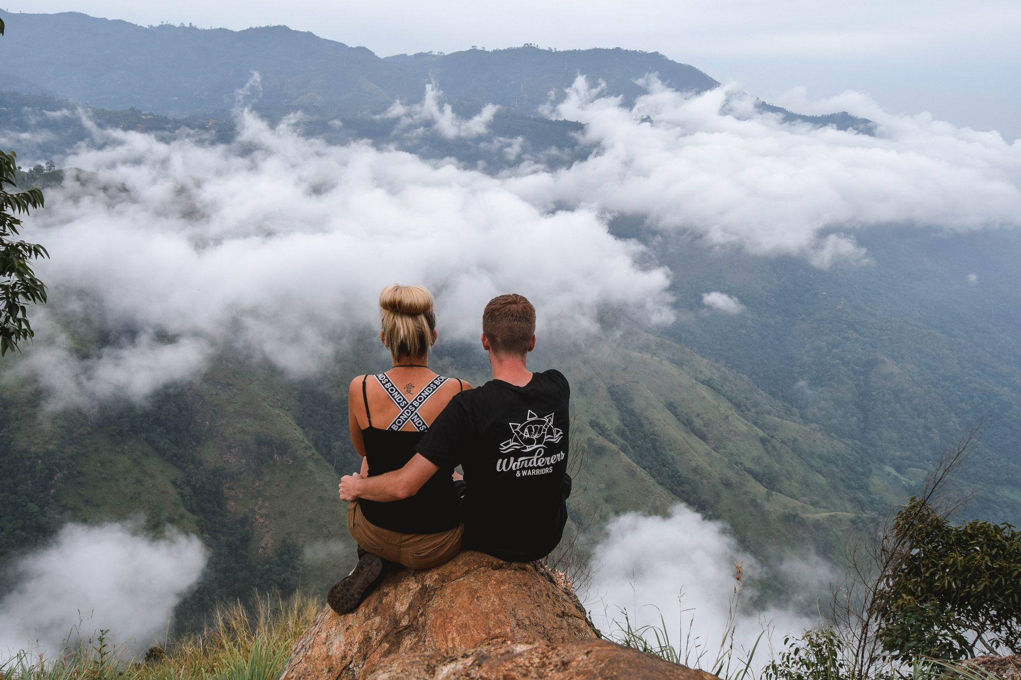 Wanderers & Warriors - Charlie & Lauren UK Travel Couple - Ella Rock Sri Lanka Ella Rock Hike Sri Lanka
