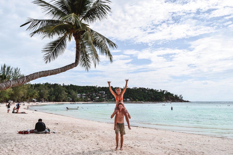 Haad Salad Beach Koh Phangan Best Beaches Koh Phangan Beaches