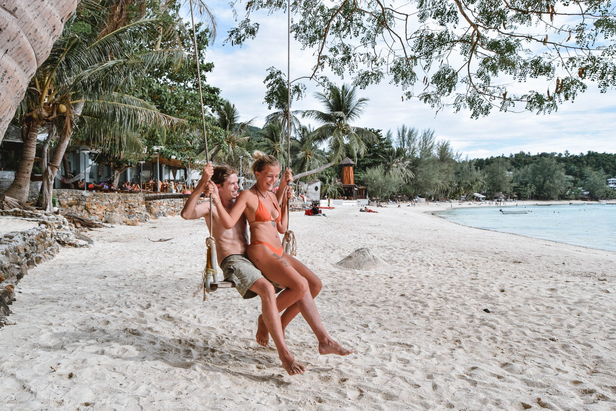 Wanderers & Warriors - Charlie & Lauren UK Travel Couple - Haad Salad Beach Koh Phangan Best Beaches Koh Phangan Beaches