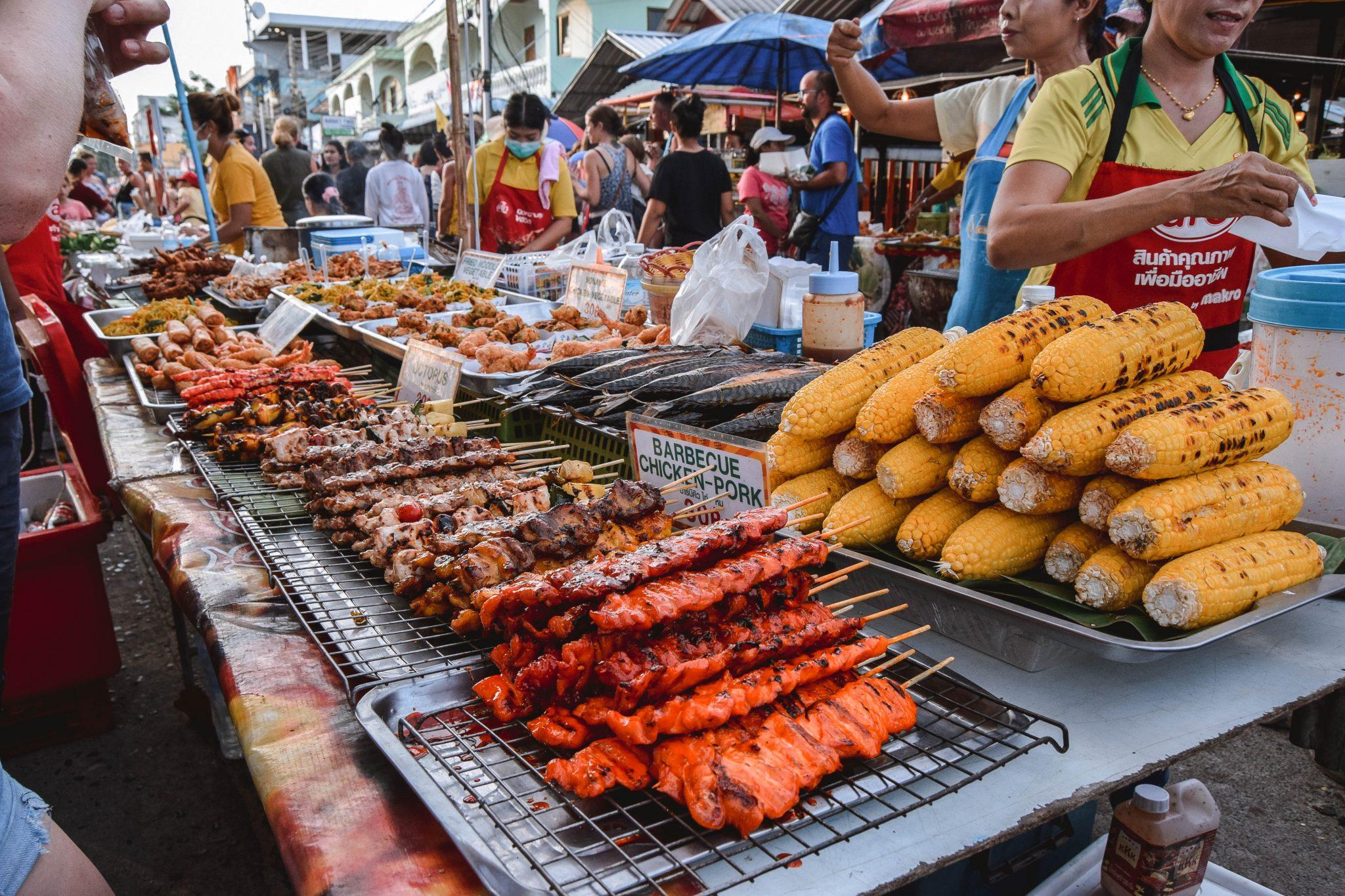 Wanderers & Warriors - Thong Sala Night Market Koh Phangan Night Market - Pantip Market Thong Sala Market