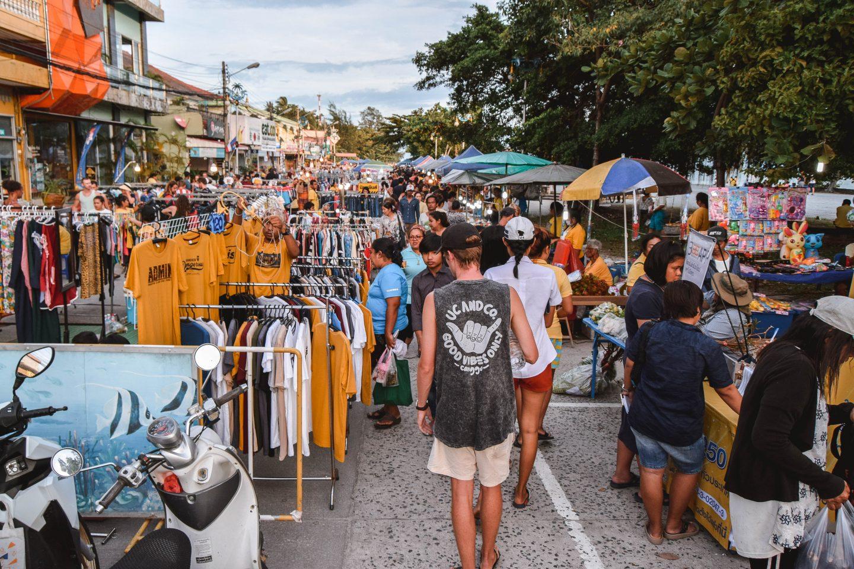 Thong Sala Night Market Koh Phangan Night Market