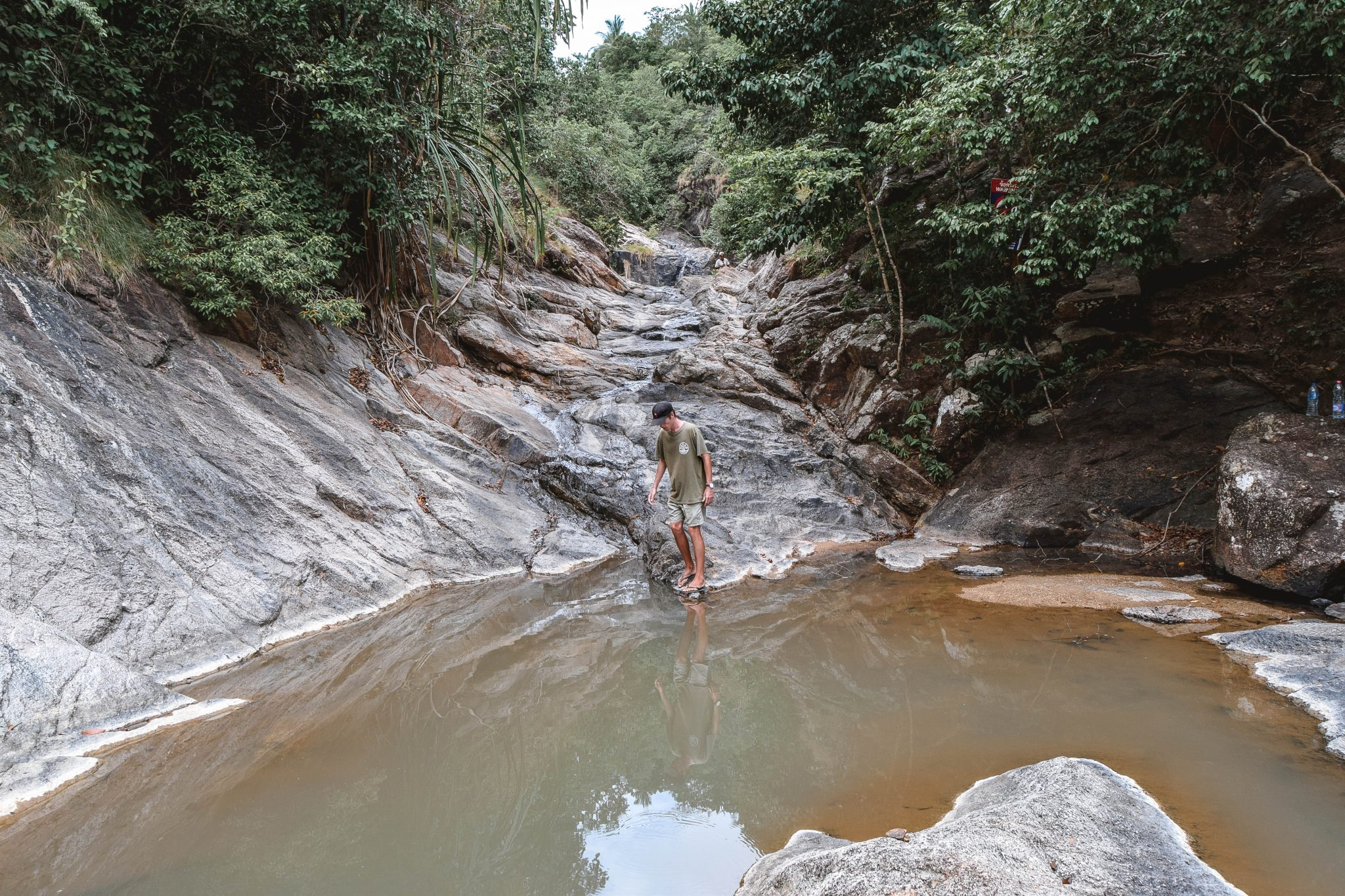 Wanderers & Warriors - Charlie & Lauren UK Travel Couple - Wang Sai Waterfall Koh Phangan Waterfall - Koh Phangan Waterfalls