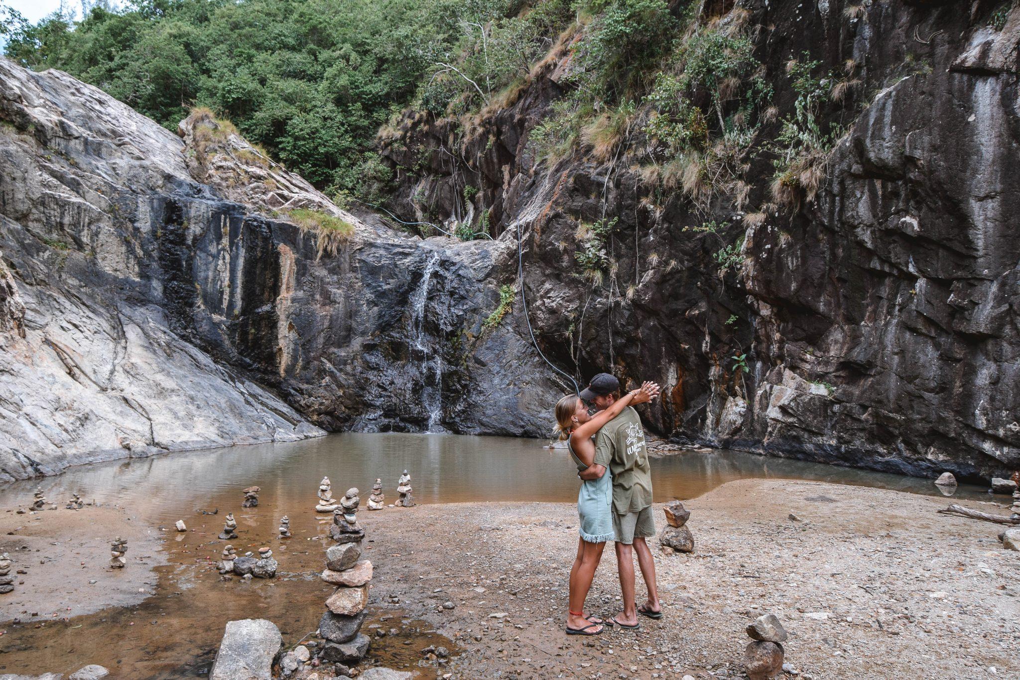 Wanderers & Warriors - Charlie & Lauren UK Travel Couple - Wang Sai Waterfall Koh Phangan Waterfall - Koh Phangan Waterfalls In Koh Phangan