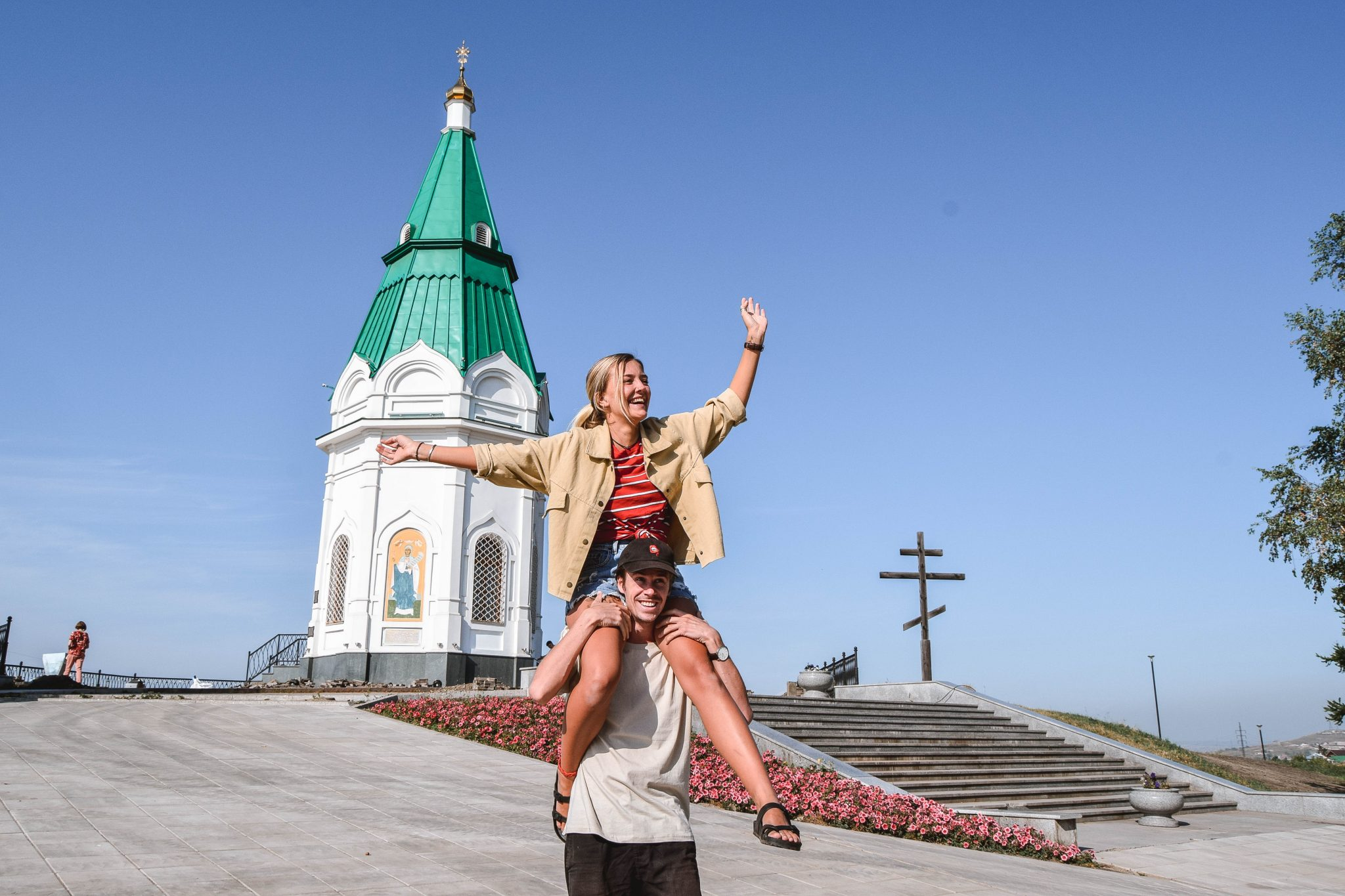 Wanderers & Warriors - Charlie & Lauren UK Travel Couple - Things To Do In Krasnoyarsk - Paraskeva Pyatnitsa Chapel Krasnoyarsk