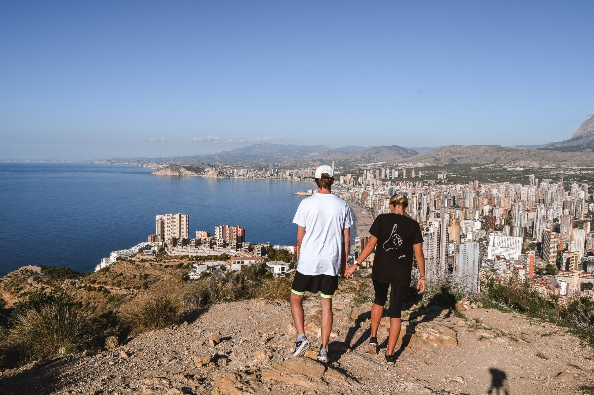 Wanderers & Warriors - Charlie & Lauren UK Travel Couple - Things To Do In Benidorm - Sierra Helada Natural Park - Serra Gelada - Hiking In Benidorm