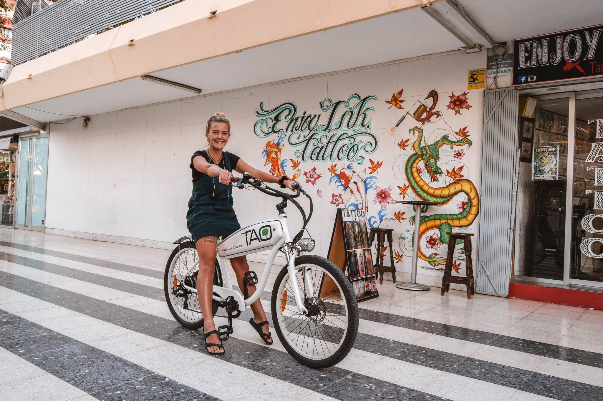 Wanderers & Warriors - Charlie & Lauren UK Travel Couple - Things To Do In Benidorm Ebikes