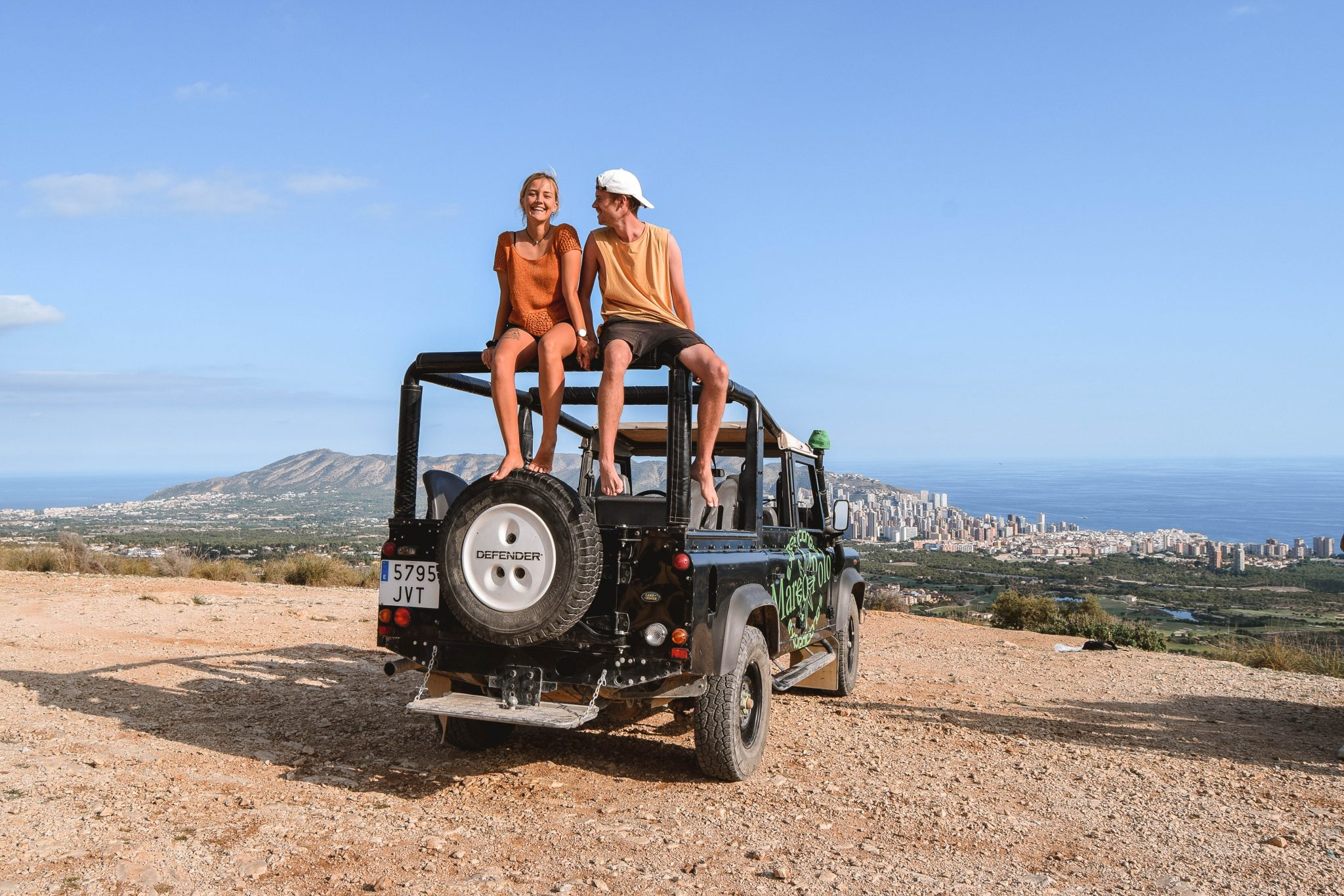 Wanderers & Warriors - Charlie & Lauren UK Travel Couple - Things To Do In Benidorm Jeep Safari Tour