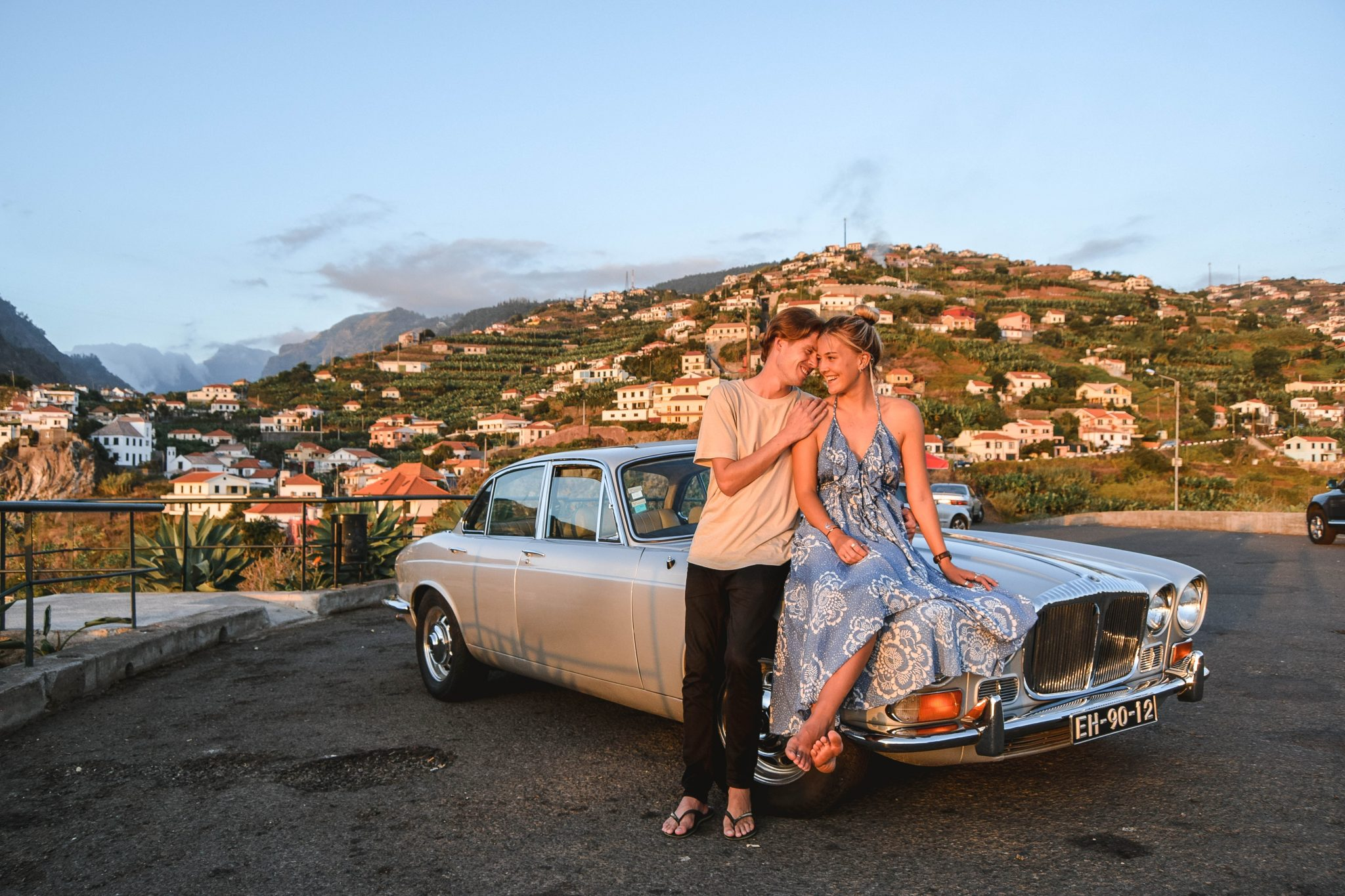Wanderers & Warriors - Charlie & Lauren UK Travel Couple - Things To Do In Madeira Things To Do - Classic car tour madeira