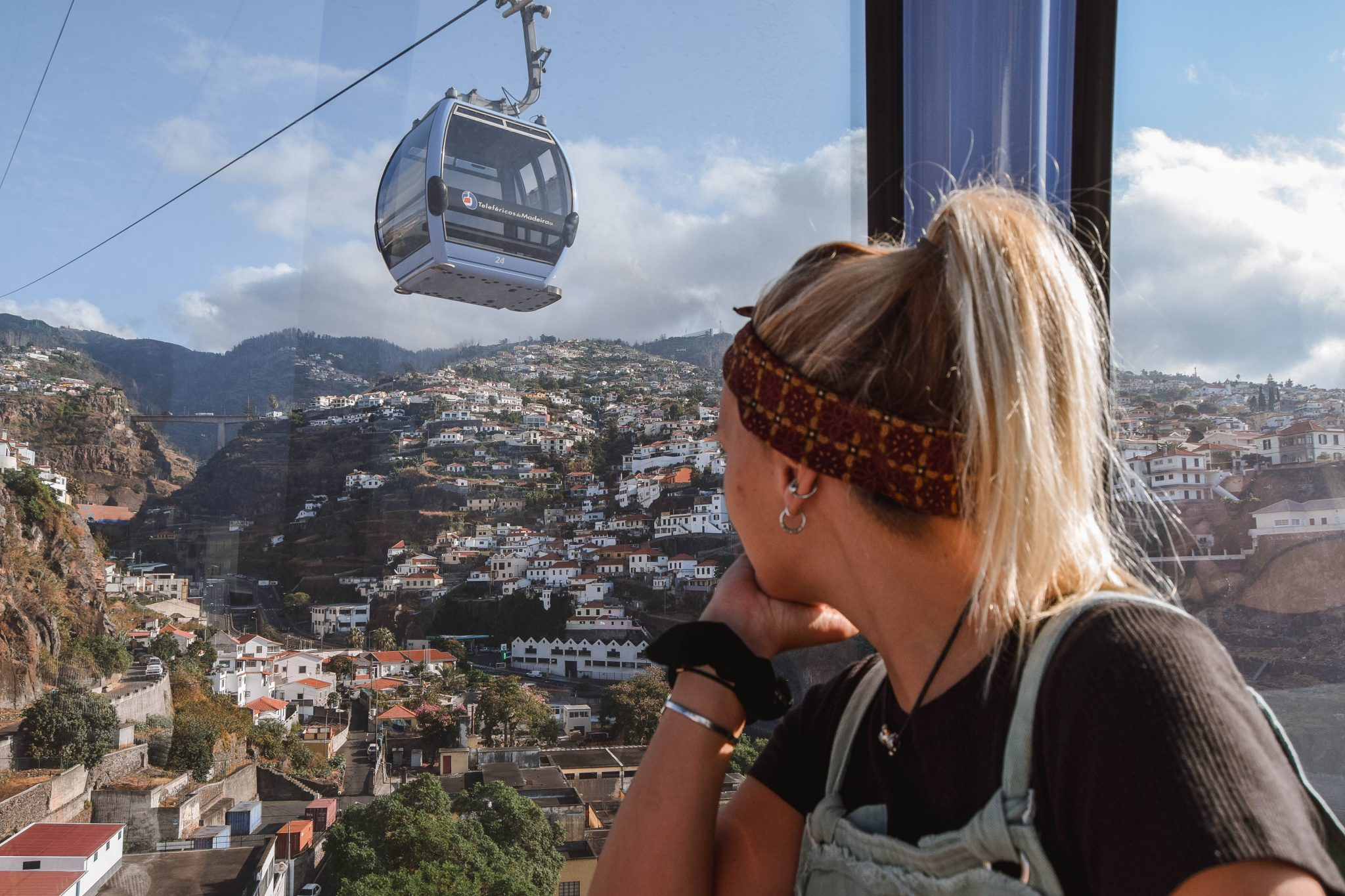 Wanderers & Warriors - Charlie & Lauren UK Travel Couple - Things To Do In Funchal Things To Do - Funchal Madeira Cable Car Funchal