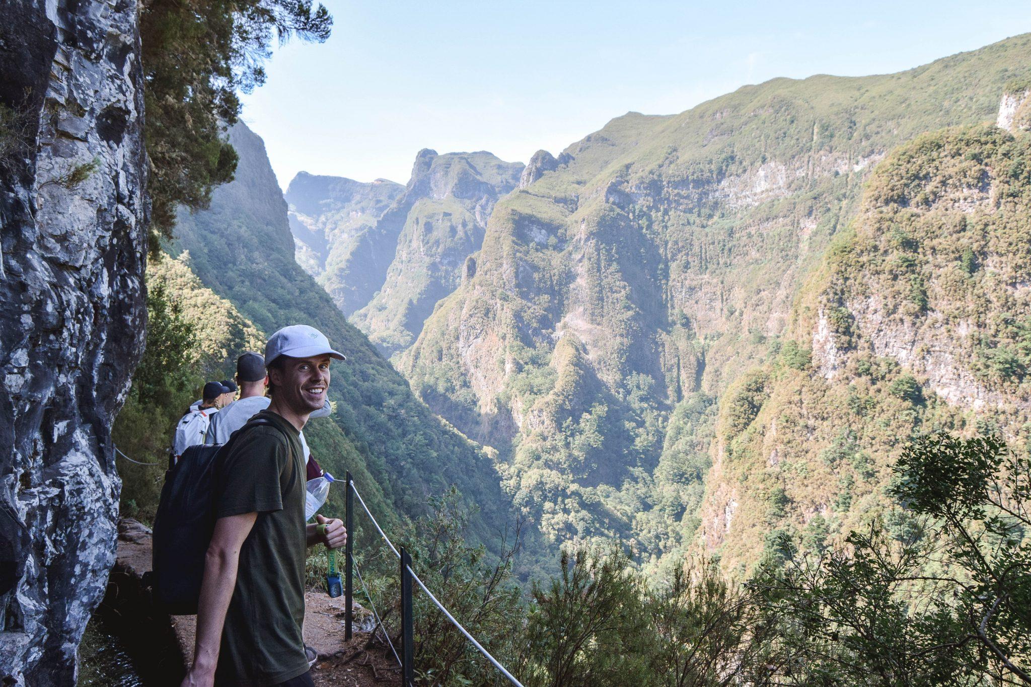 Wanderers & Warriors - Charlie & Lauren UK Travel Couple - Things To Do In Madeira Things To Do - caldeirao verde madeira levada walks
