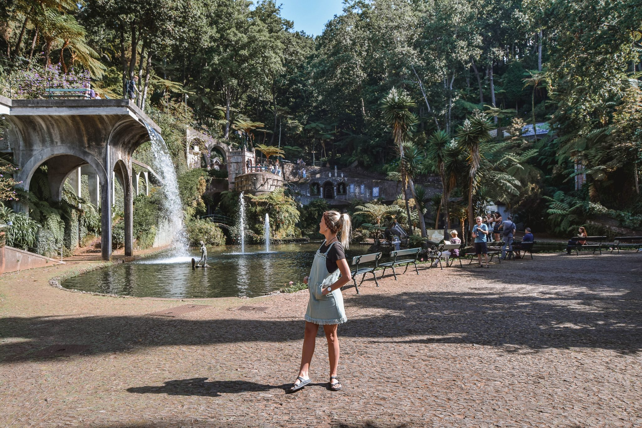 Wanderers & Warriors - Charlie & Lauren UK Travel Couple - Things To Do In Funchal Things To Do - monte palace tropical garden Funchal Madeira